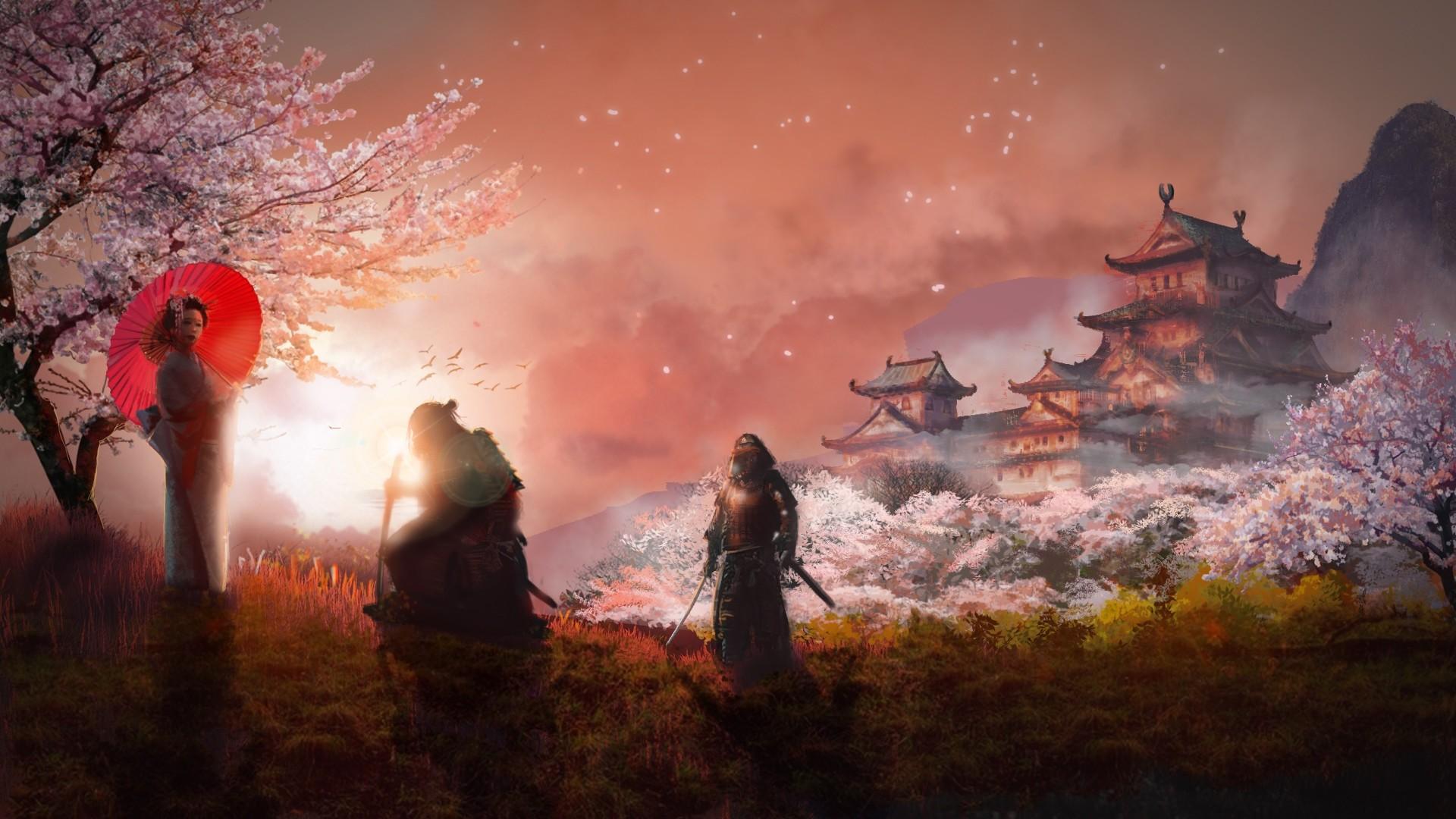 Samurai PC Wallpaper