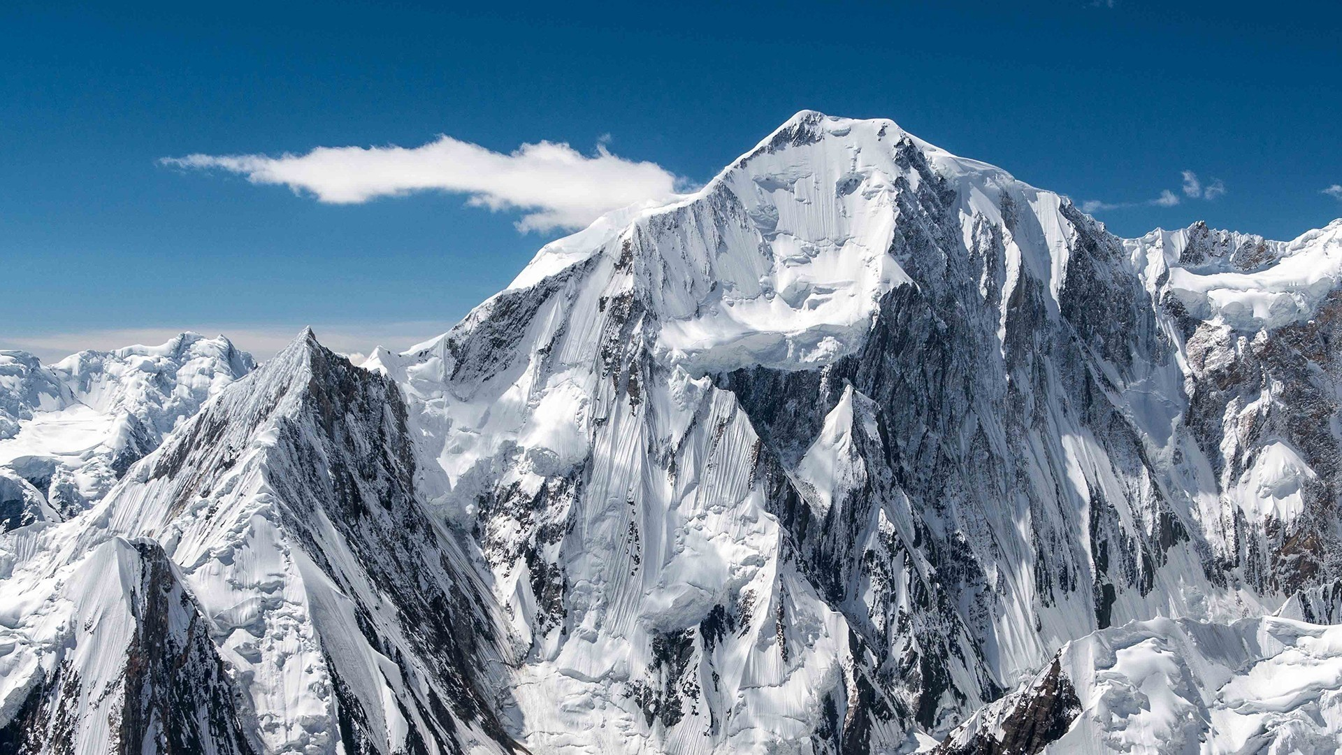Snow Mountain PC Wallpaper