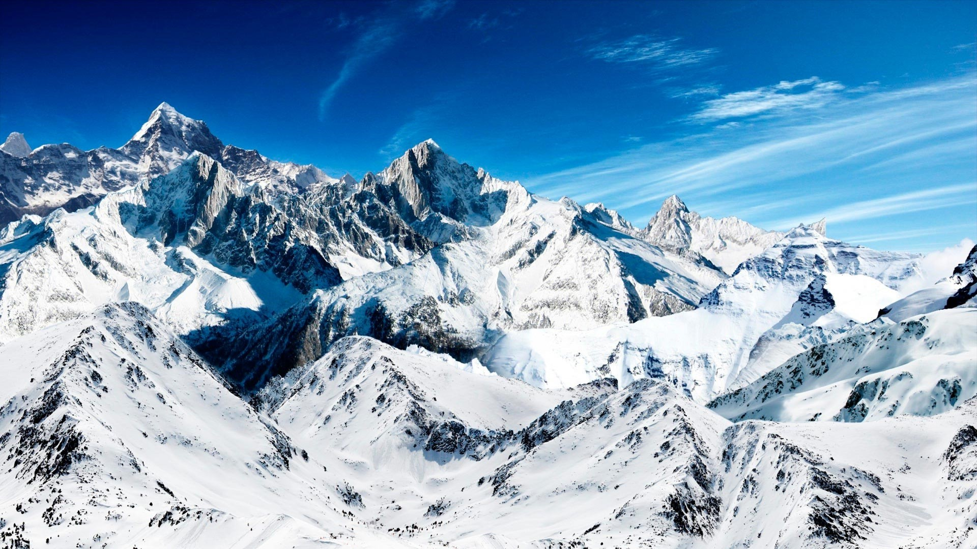Snow Mountain Wallpaper for pc