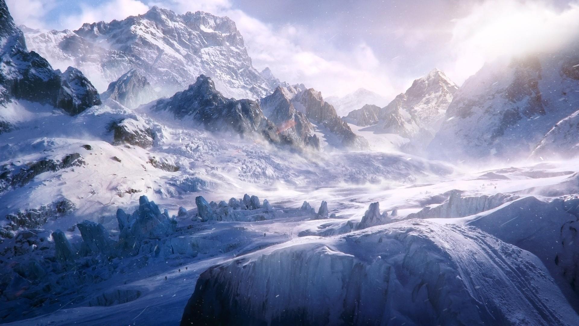 Snow Mountain a wallpaper