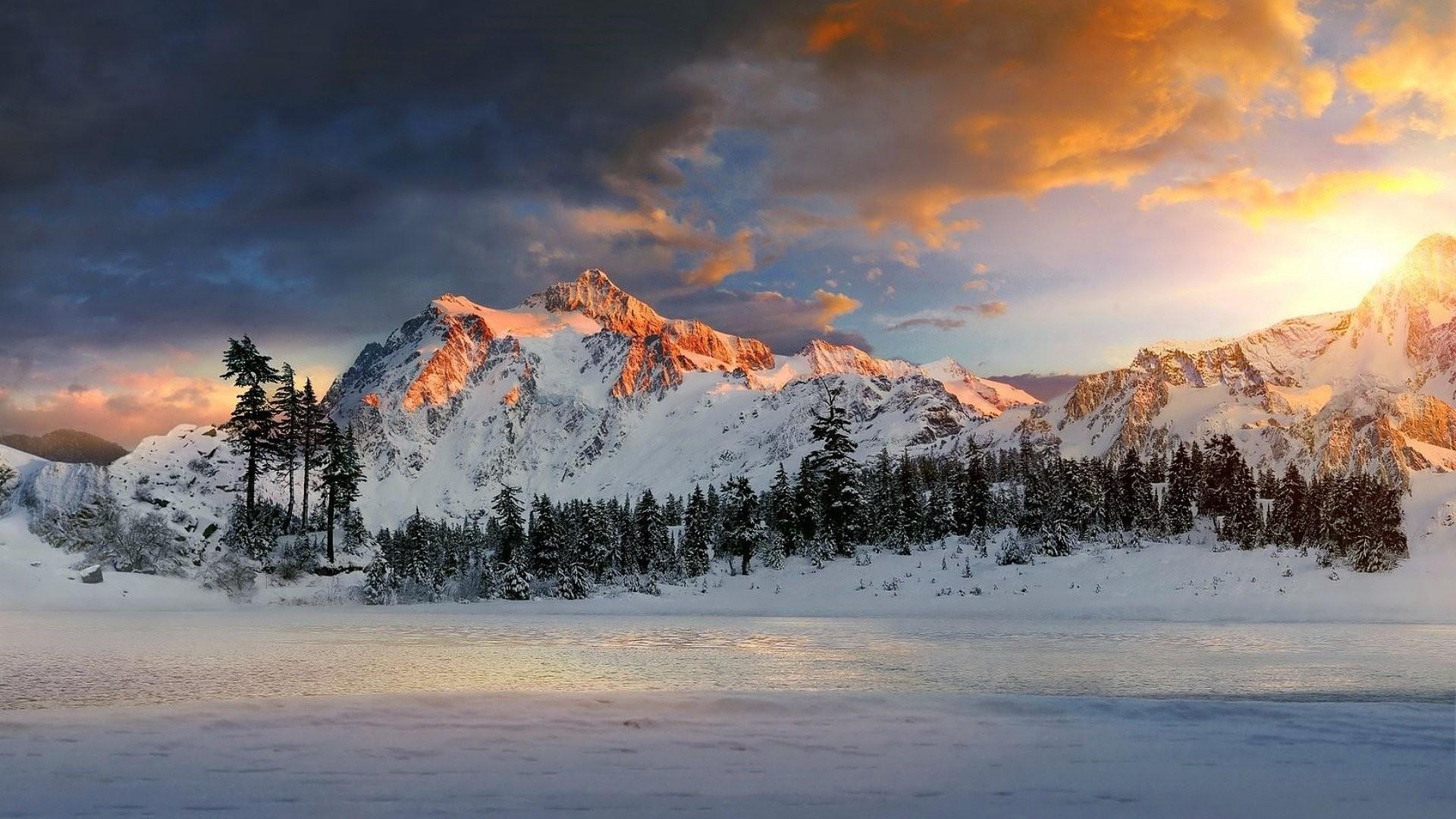 Snow Mountain Wallpaper image hd