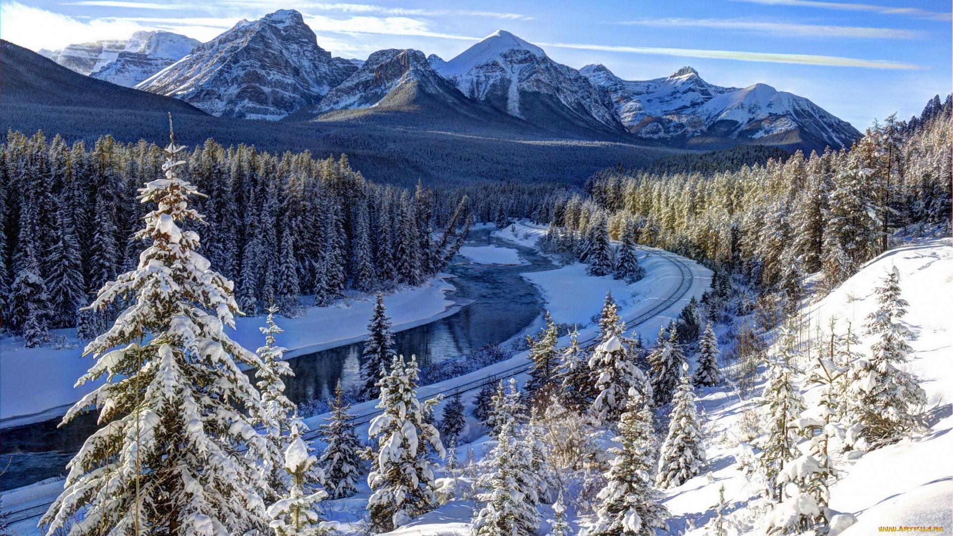 Snow Mountain hd wallpaper download