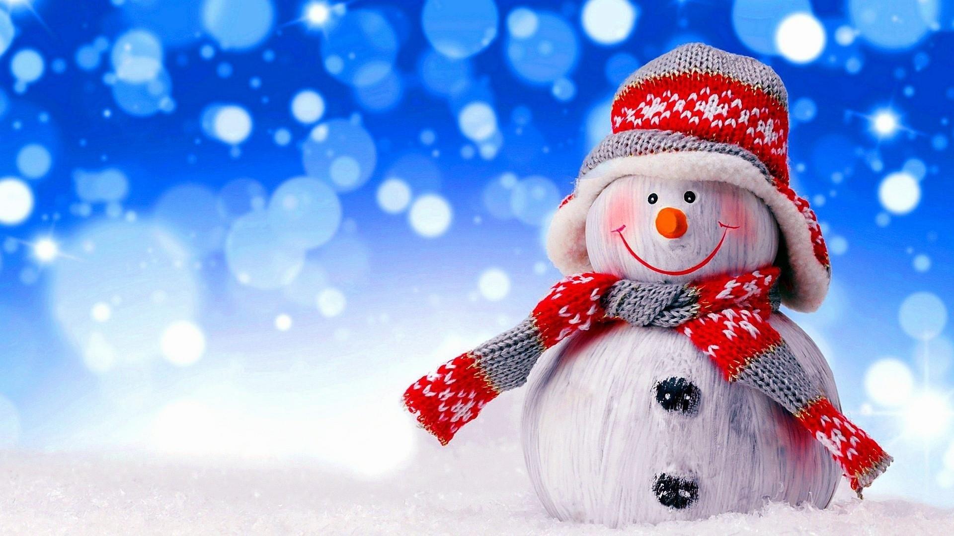 Snowman hd wallpaper download