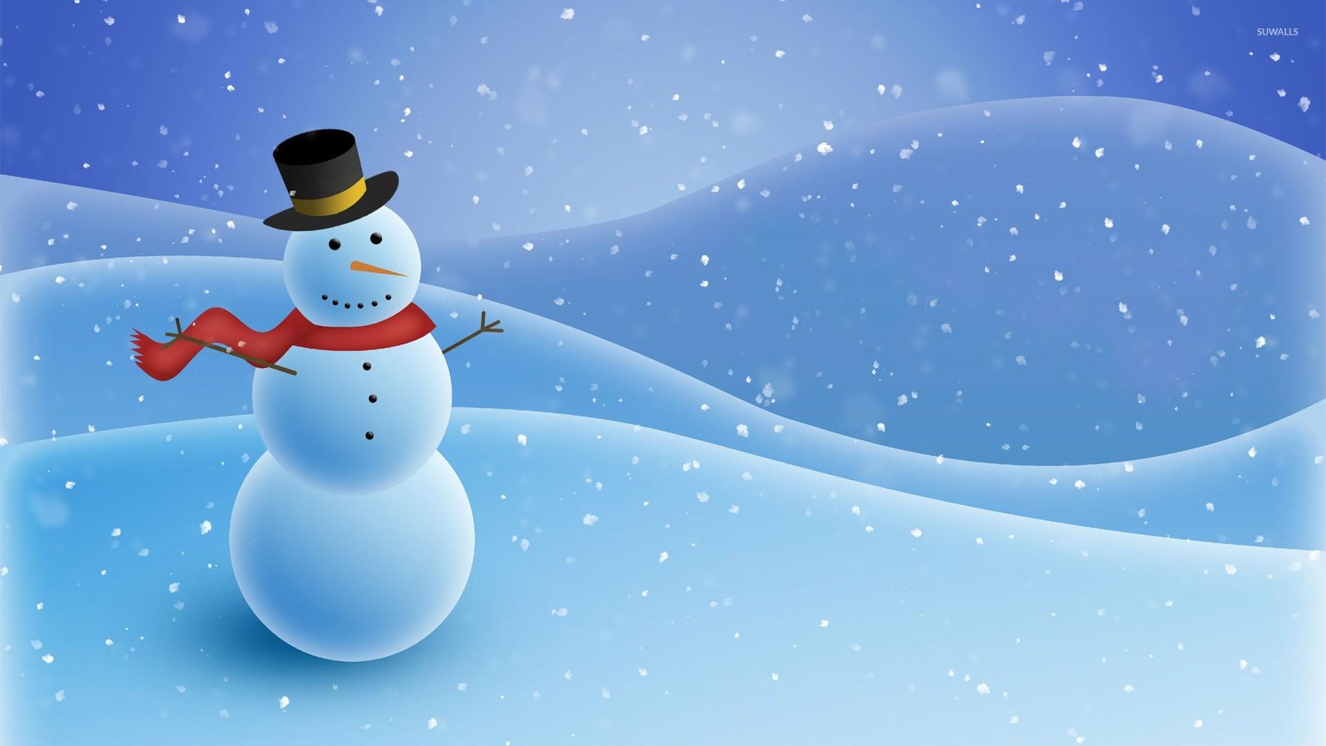 Snowman wallpaper photo hd