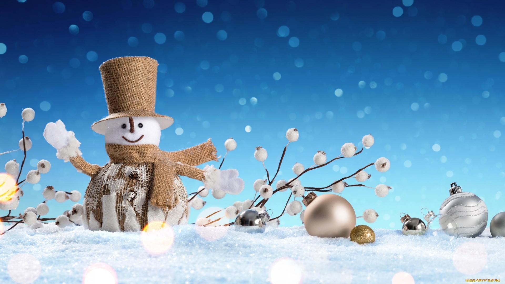 Snowman Download Wallpaper