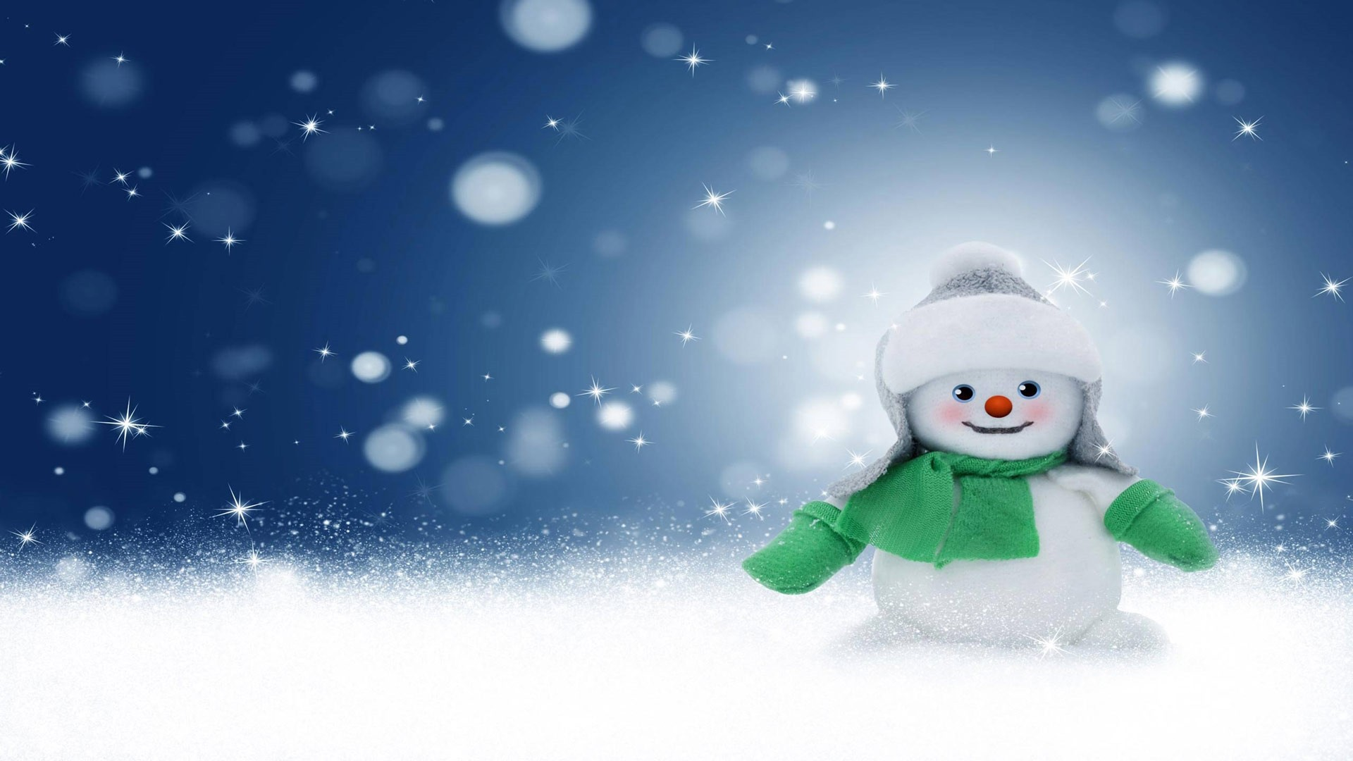 Snowman Wallpaper and Background
