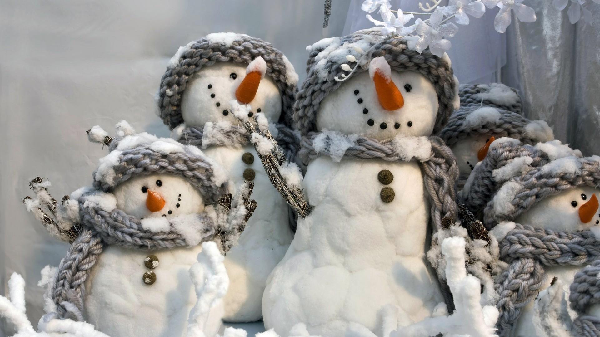 Snowman PC Wallpaper HD
