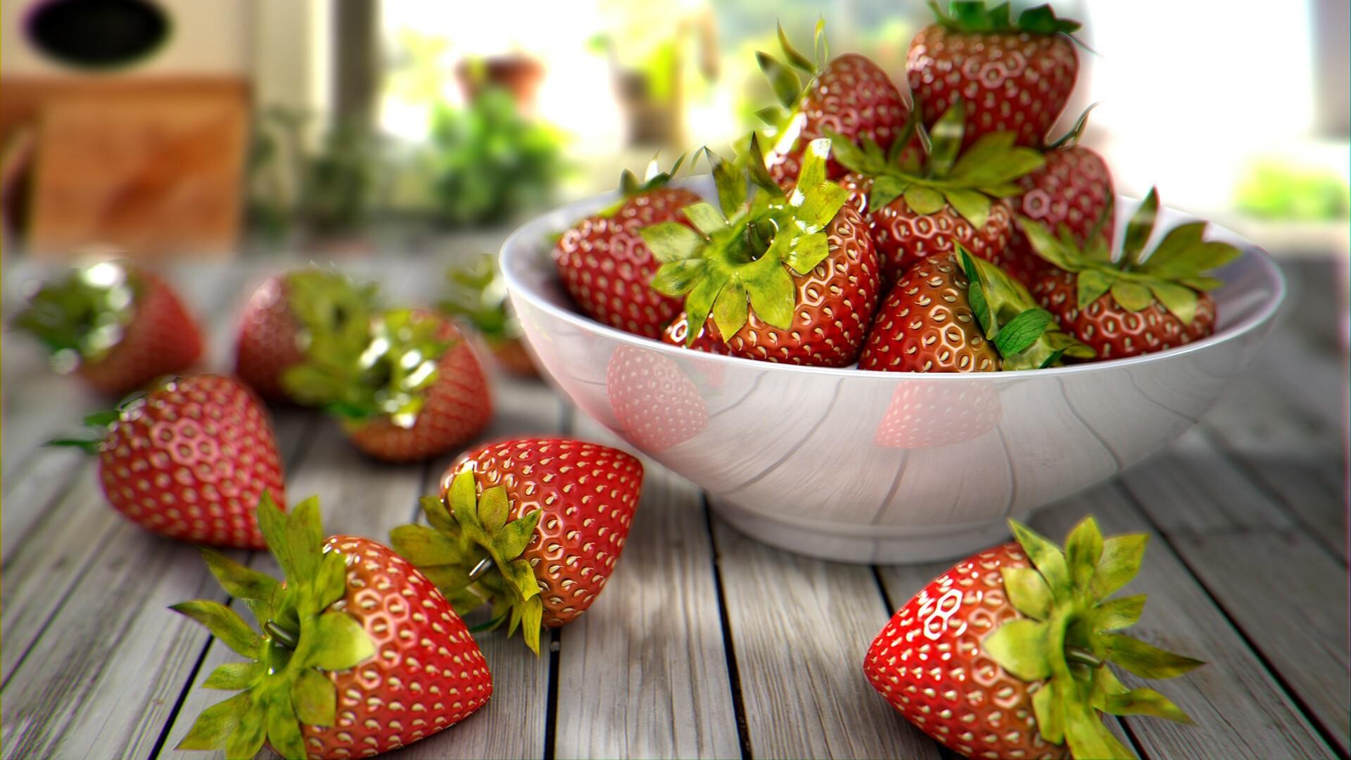 Strawberry HD Wallpaper