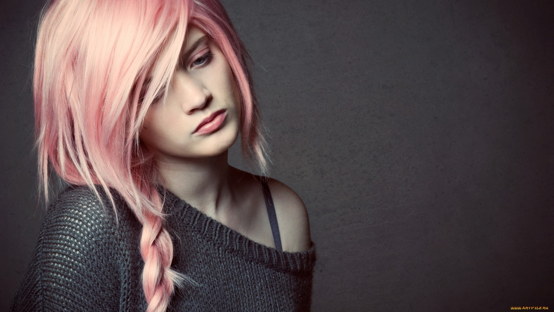 Characters With Pink Hair Download Wallpaper