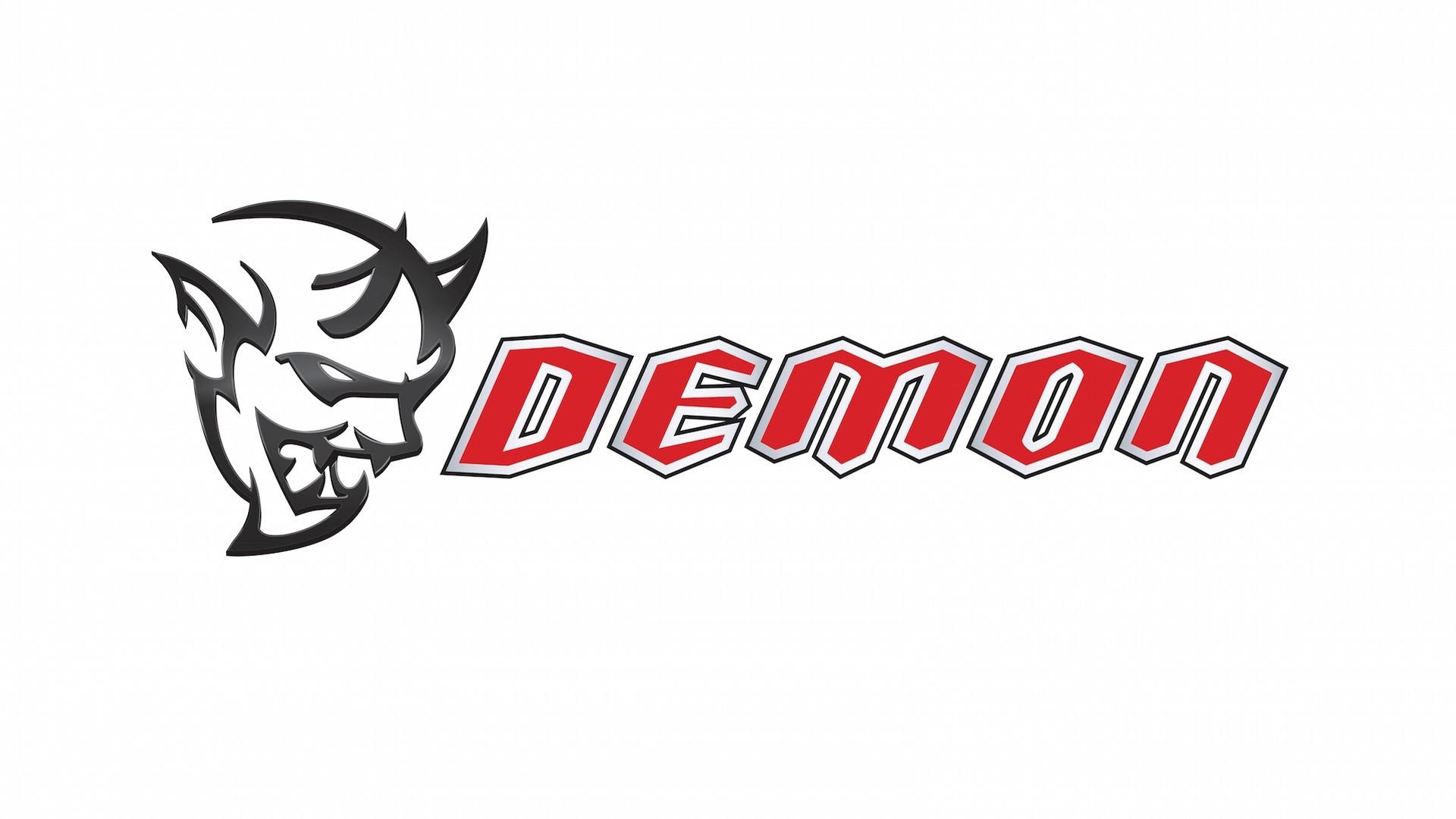 Dodge Demon Logo Background Wallpaper