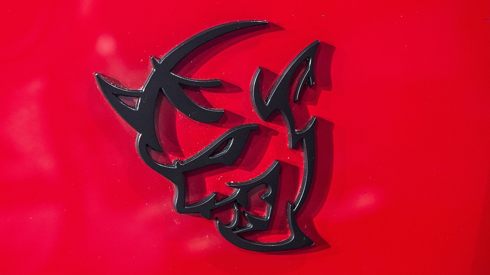 Dodge Demon Logo Wallpaper and Background