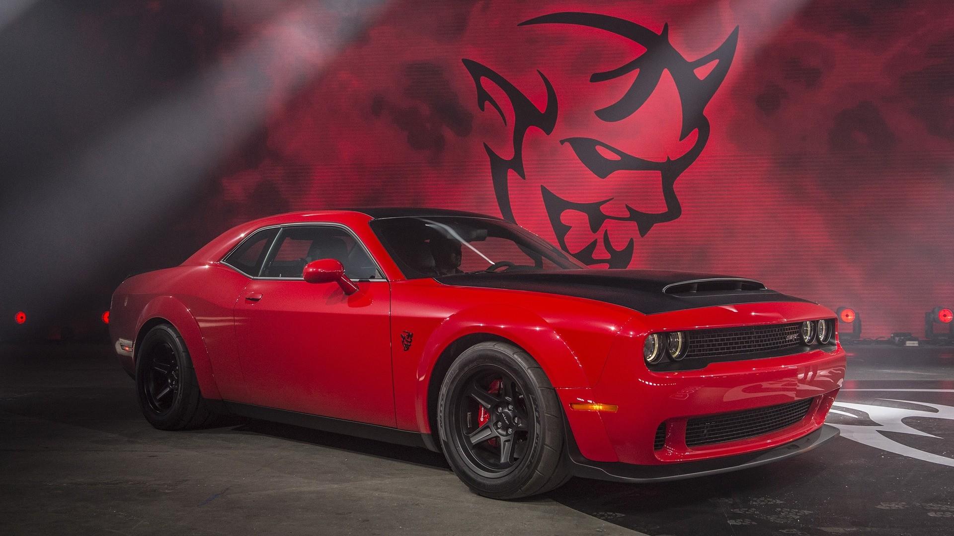 Dodge Demon Logo Background