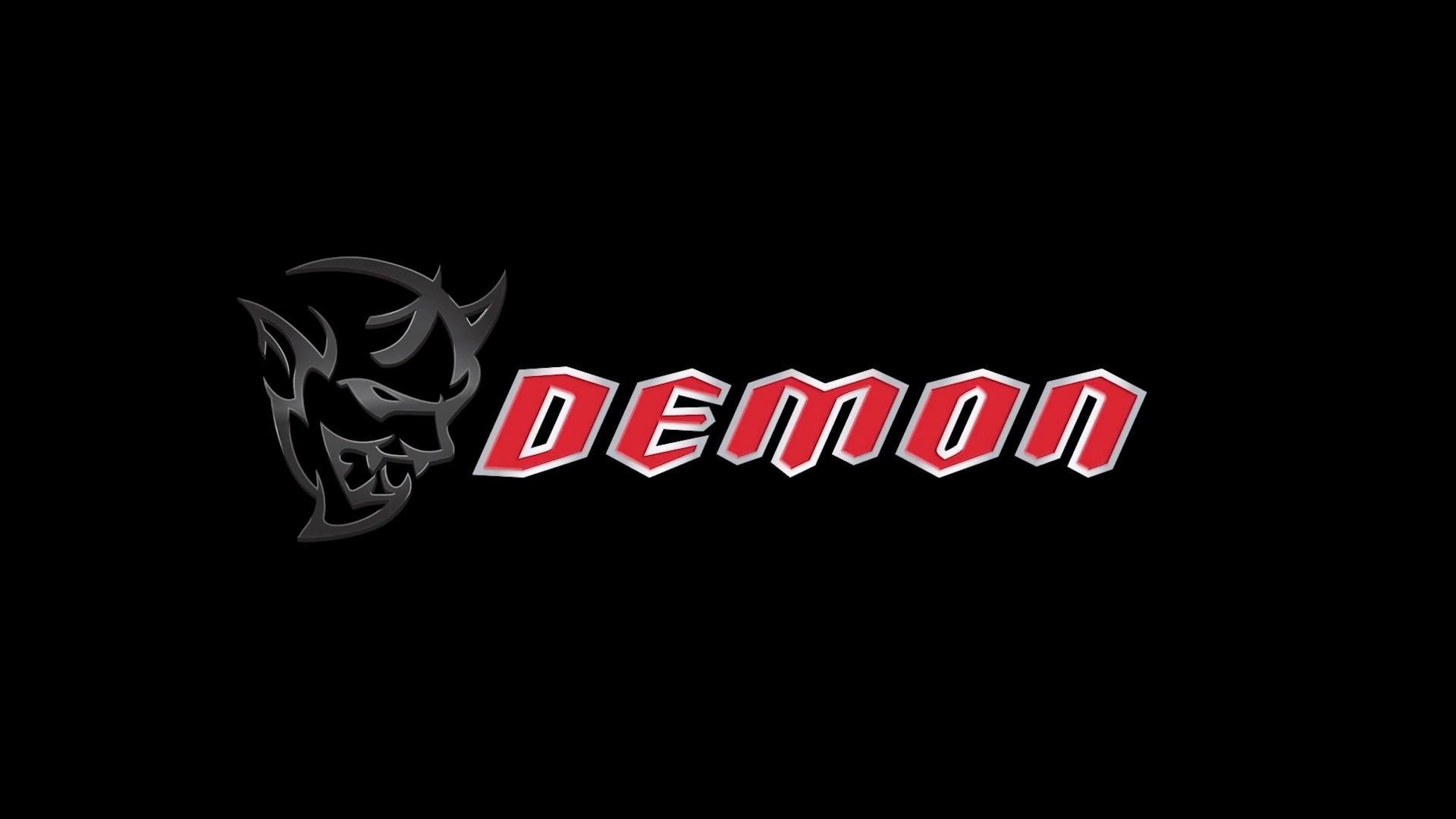 Dodge Demon Logo HD Wallpaper