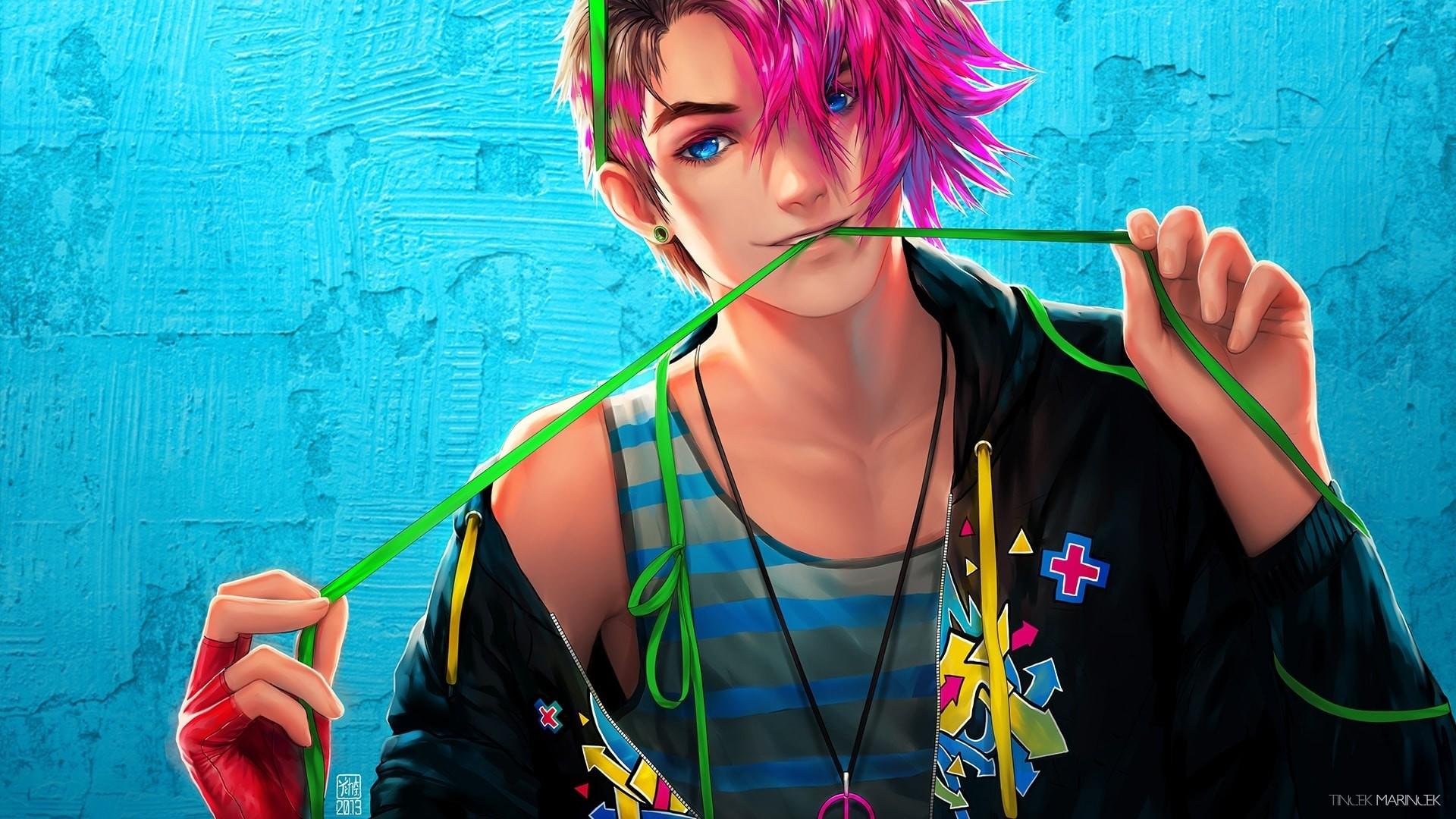 Handsome Anime Boy Full HD Wallpaper