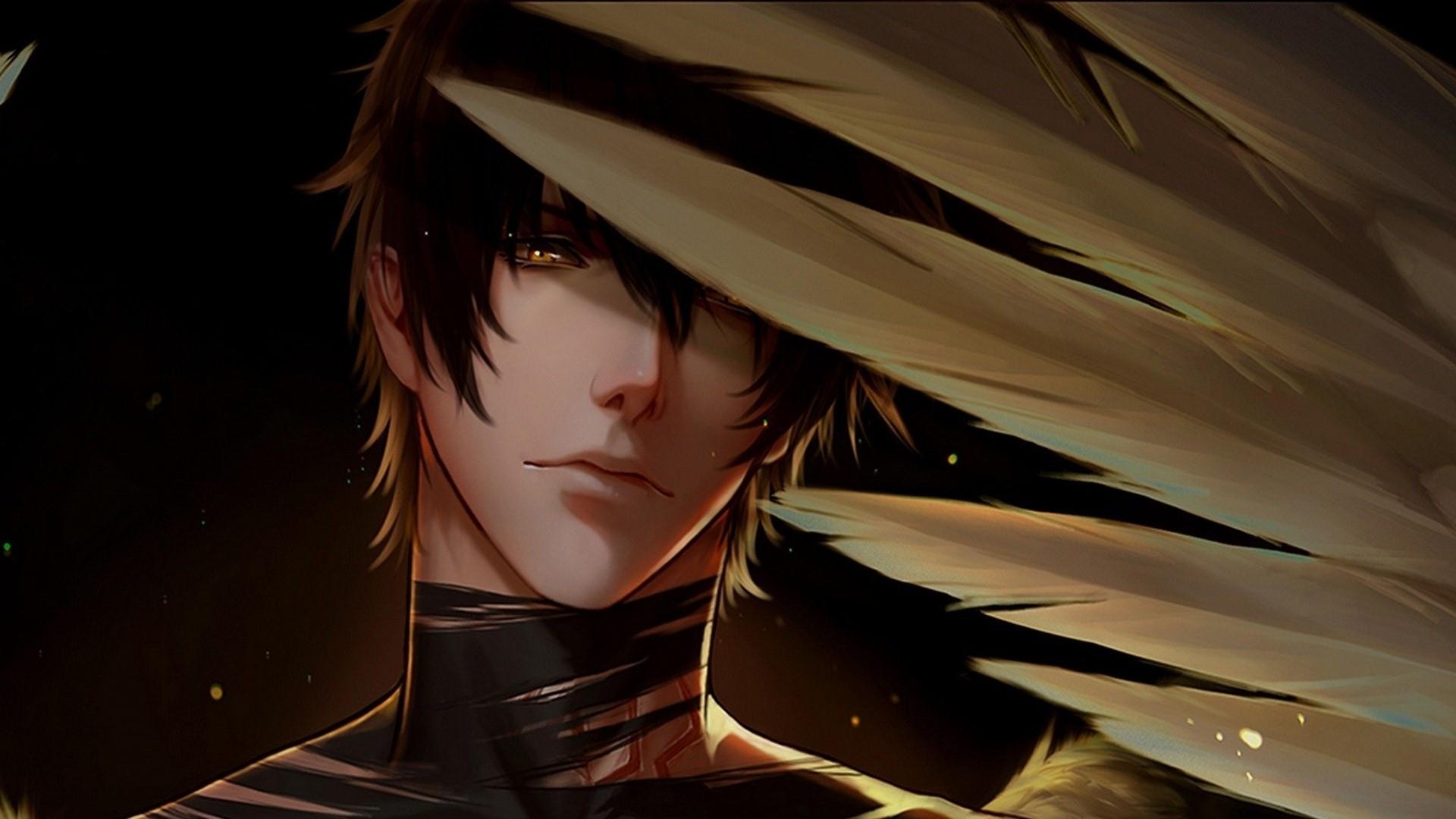 Handsome Anime Boy hd desktop wallpaper