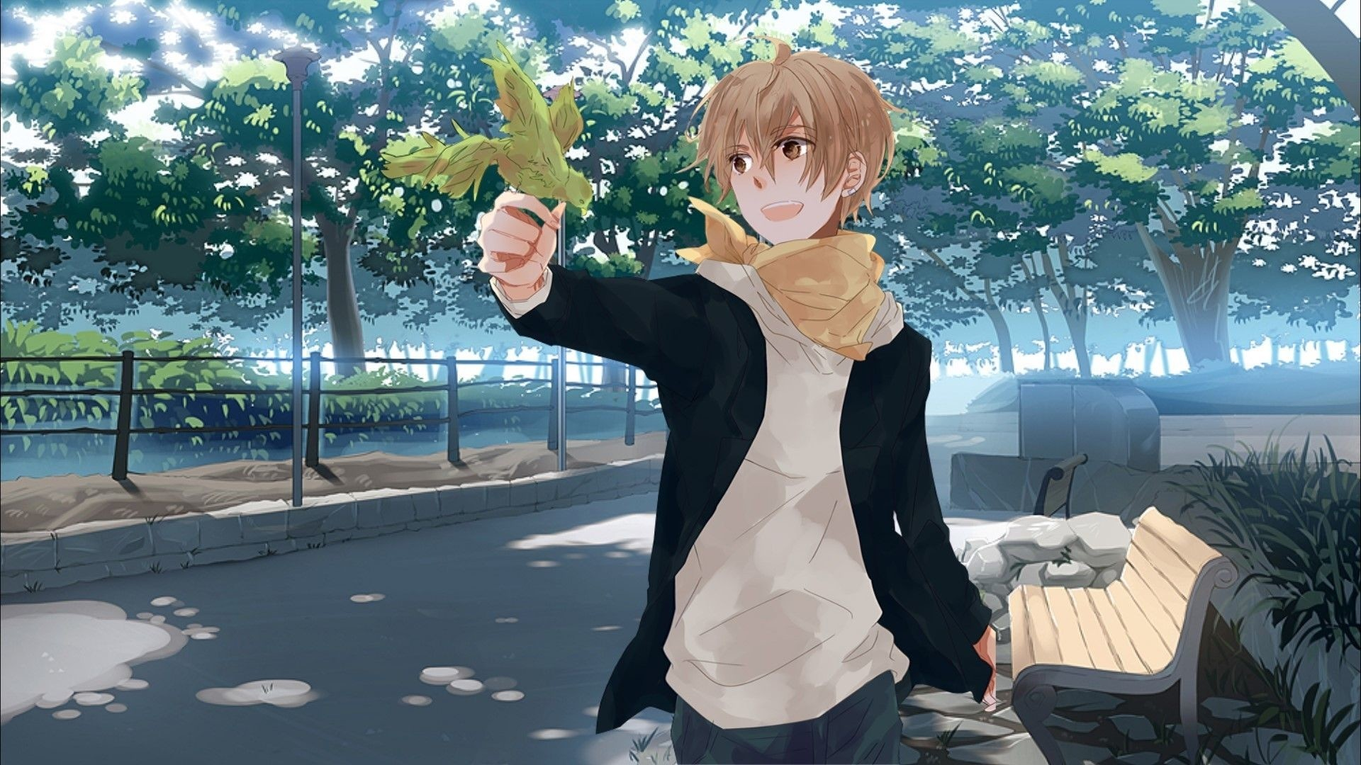 Handsome Anime Boy a wallpaper