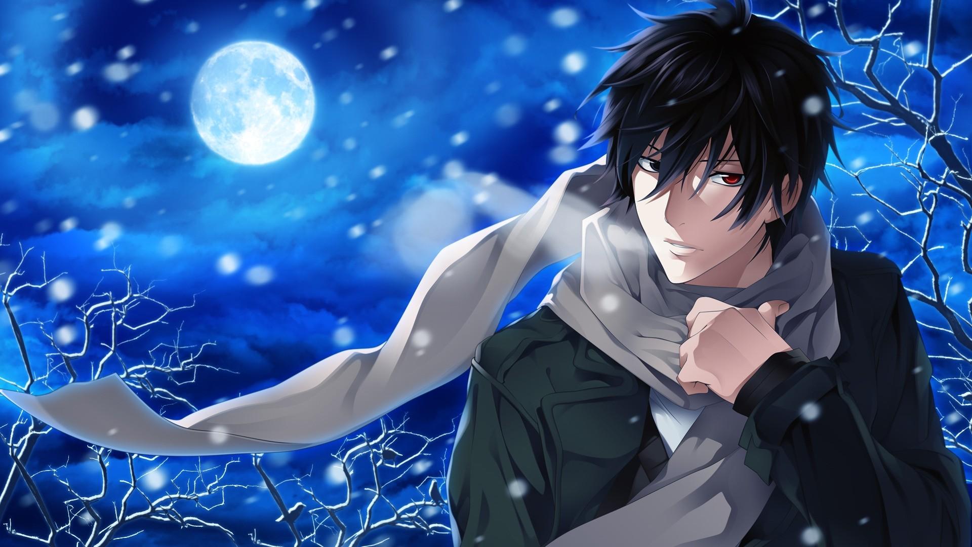 Handsome Anime Boy Desktop Wallpaper