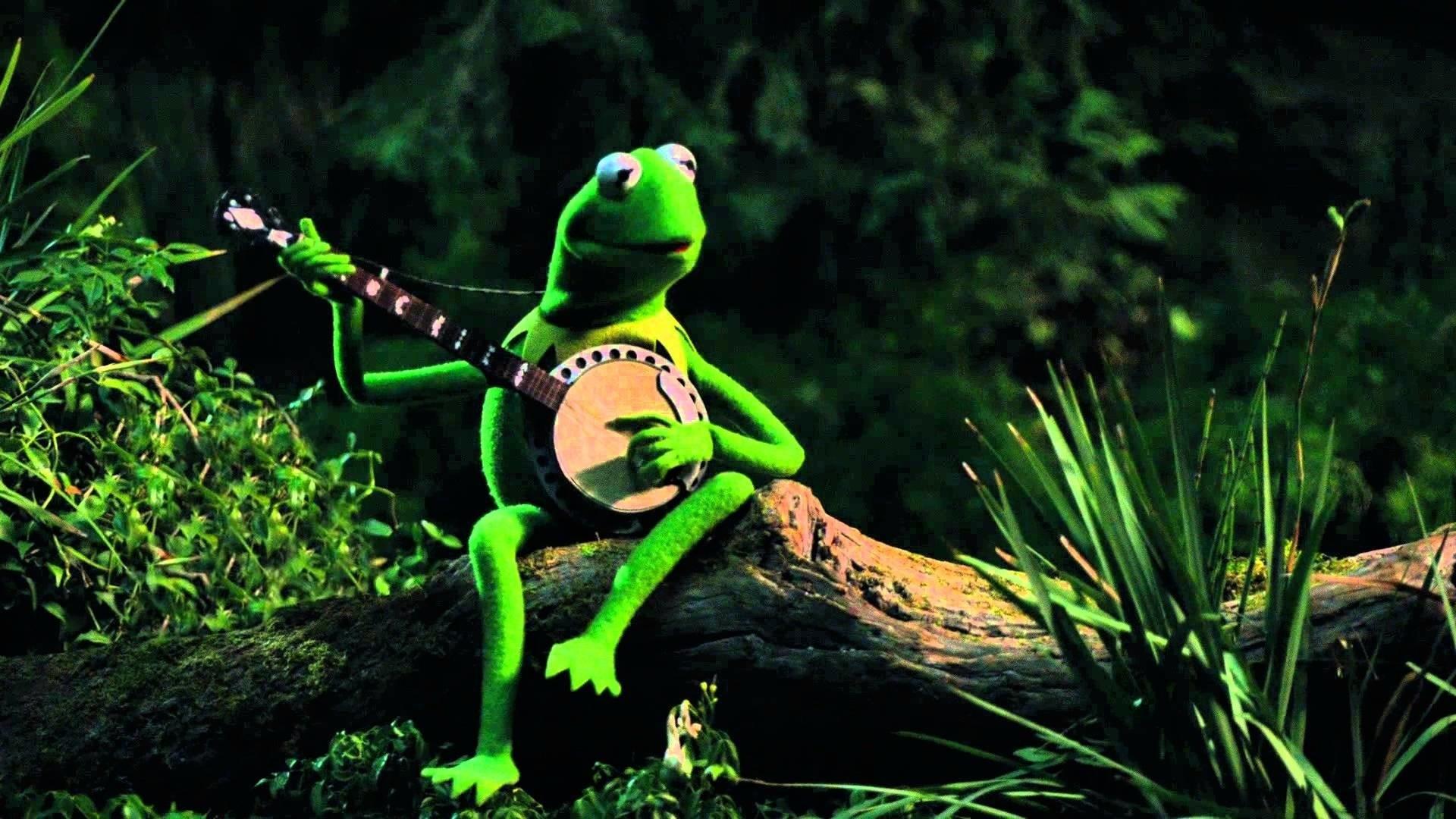 Hearts Kermit The Frog Desktop Wallpaper