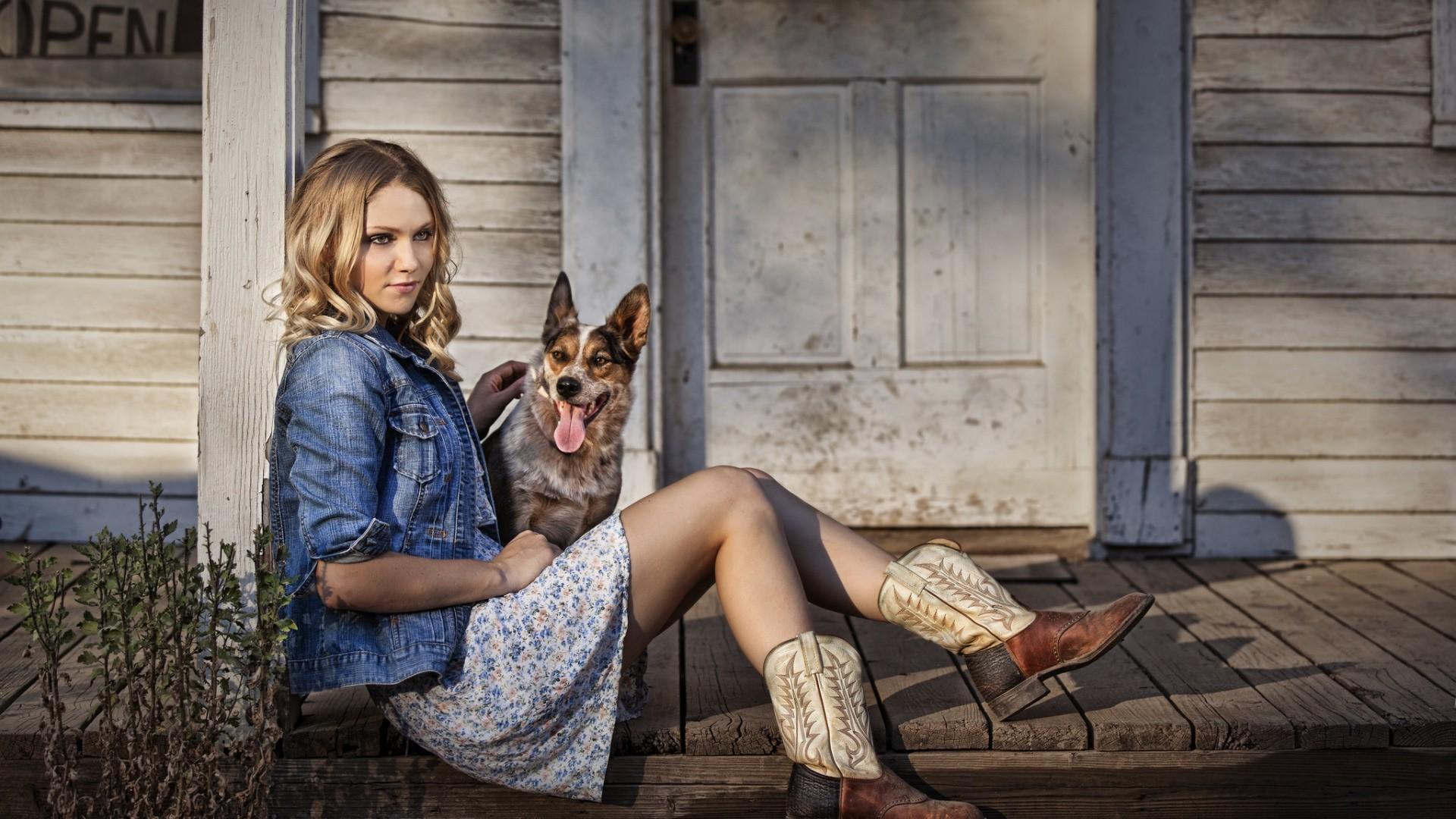 Country Girl hd desktop wallpaper