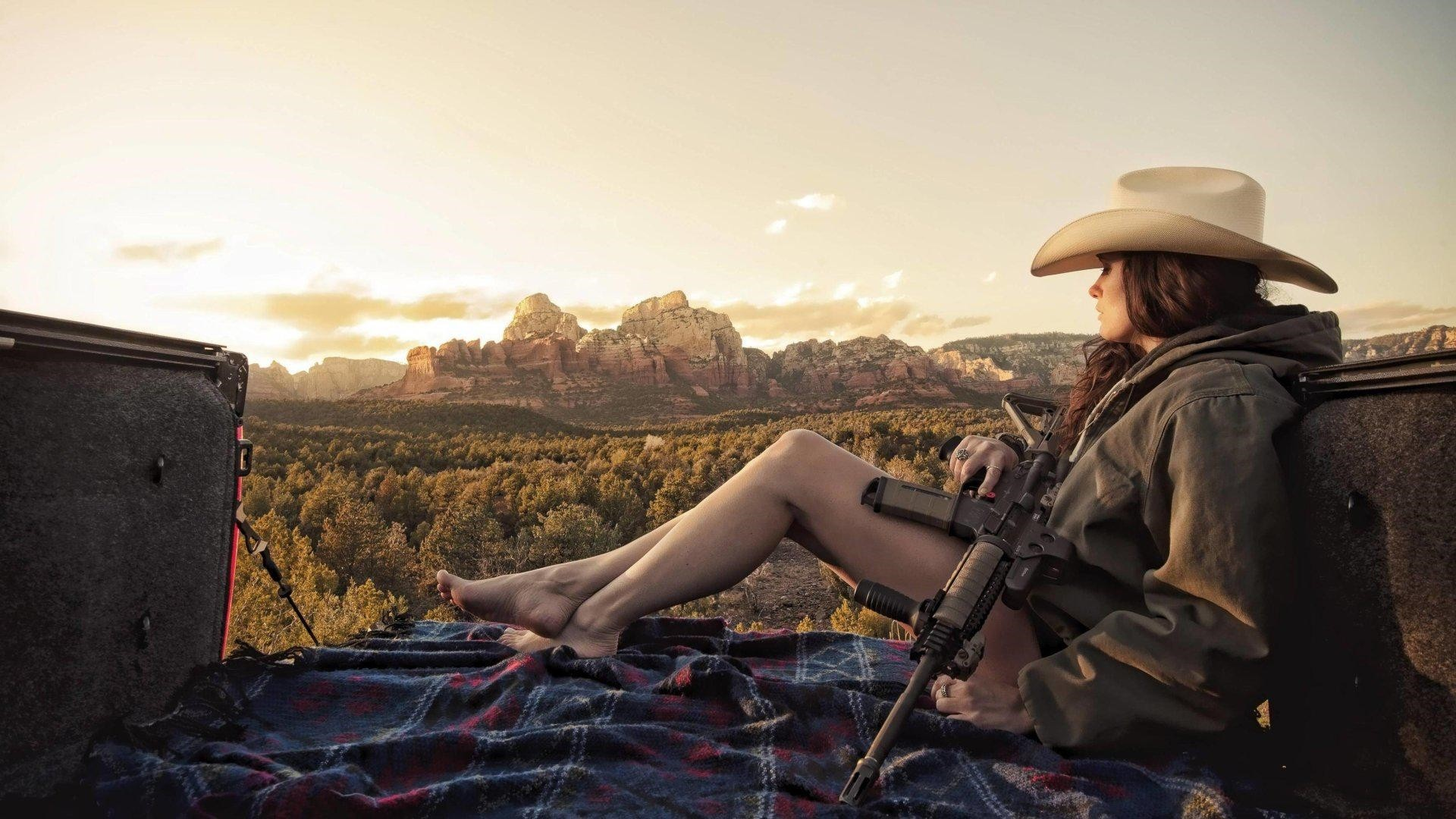 Country Girl Free Wallpaper and Background