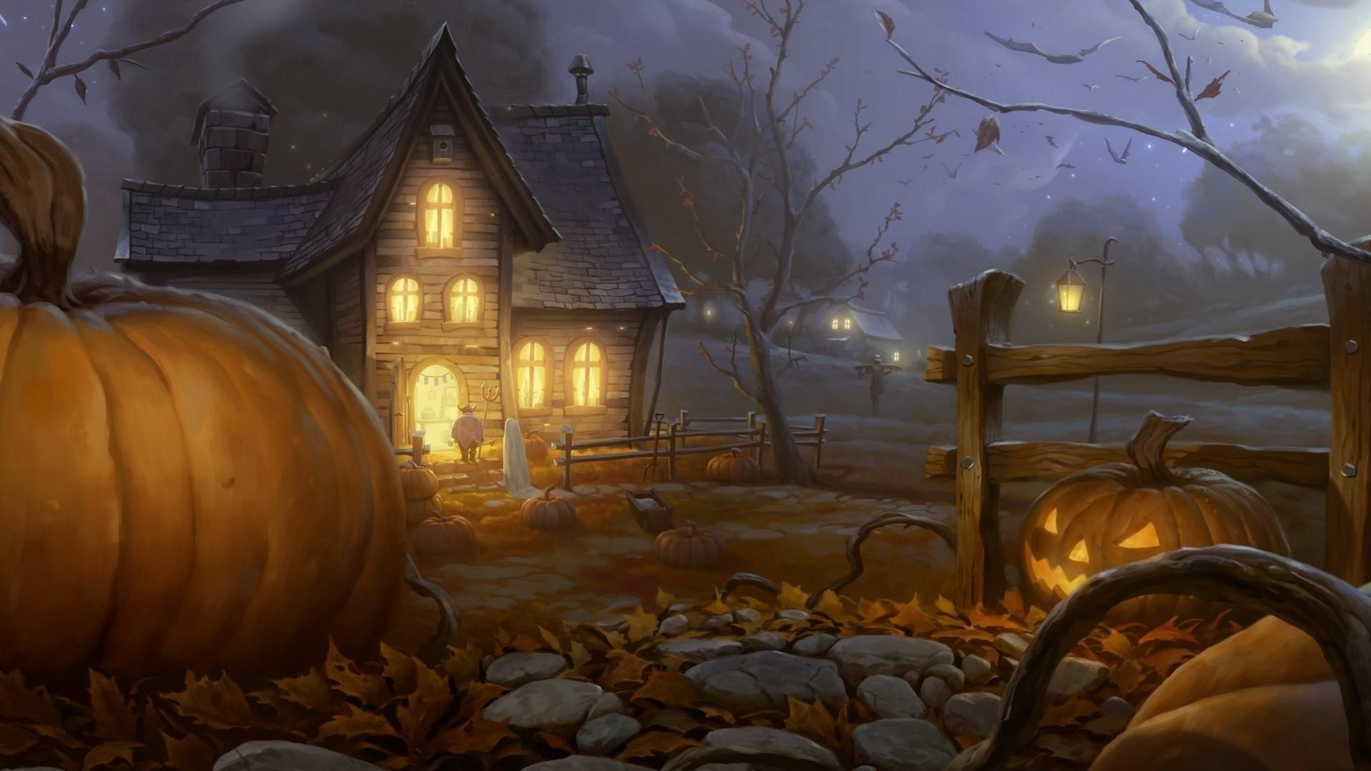 Halloween computer wallpaper
