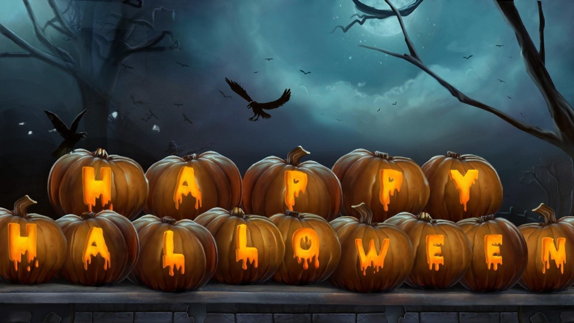 Halloween hd desktop wallpaper