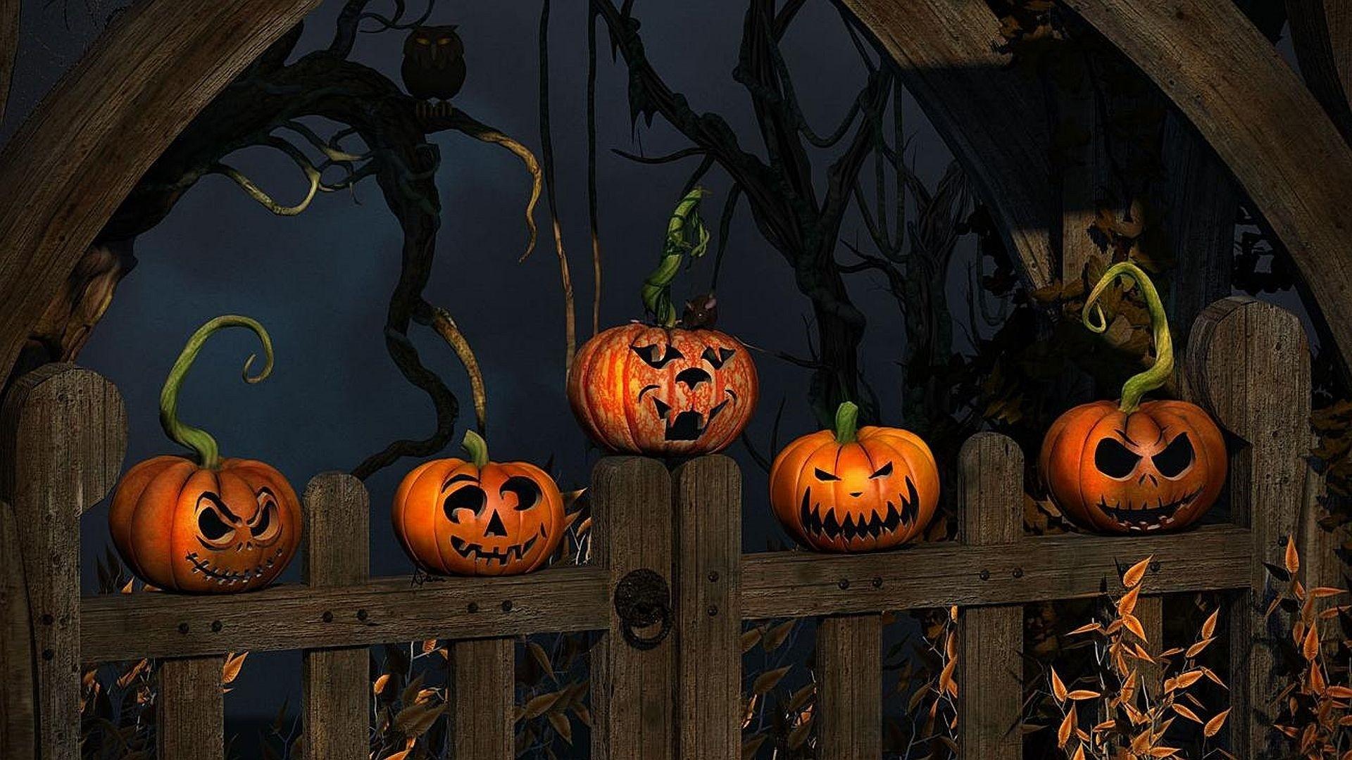Halloween Full HD Wallpaper