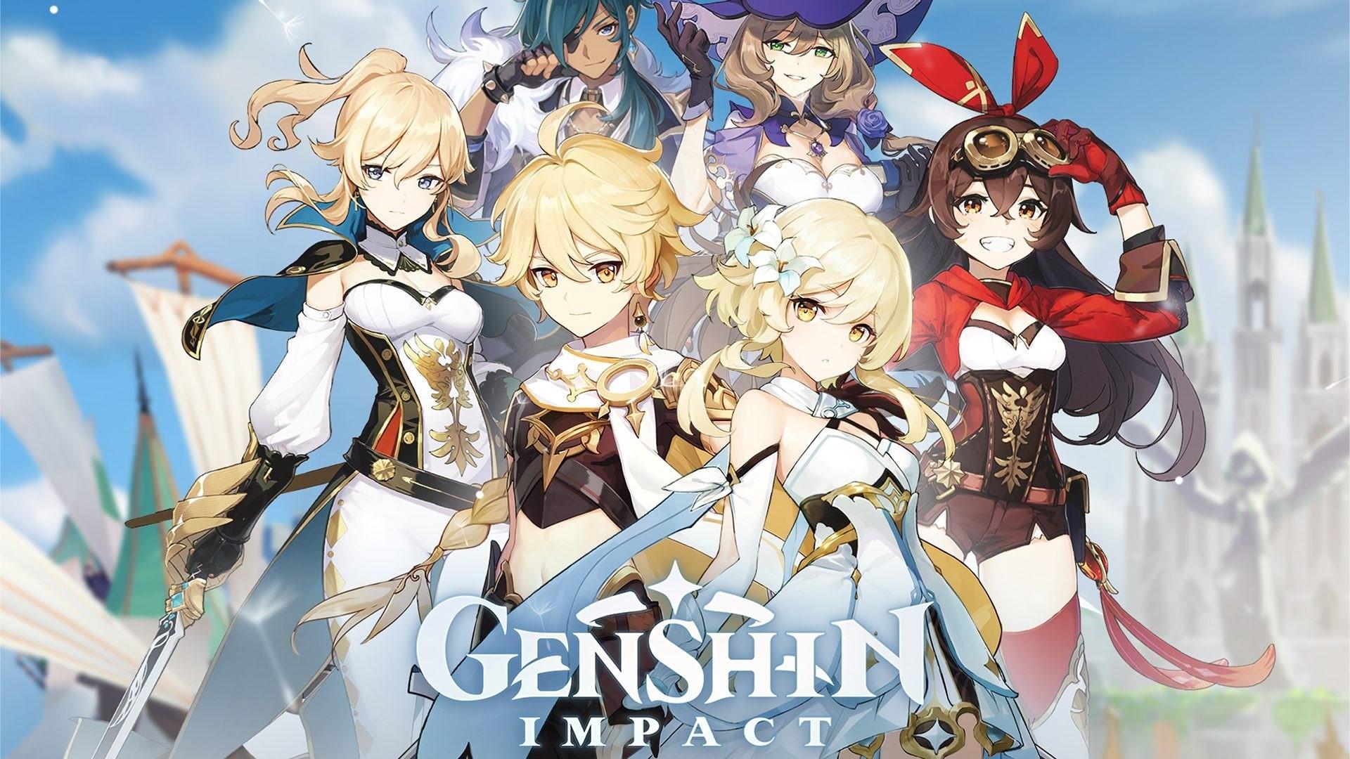 Genshin Impact computer wallpaper