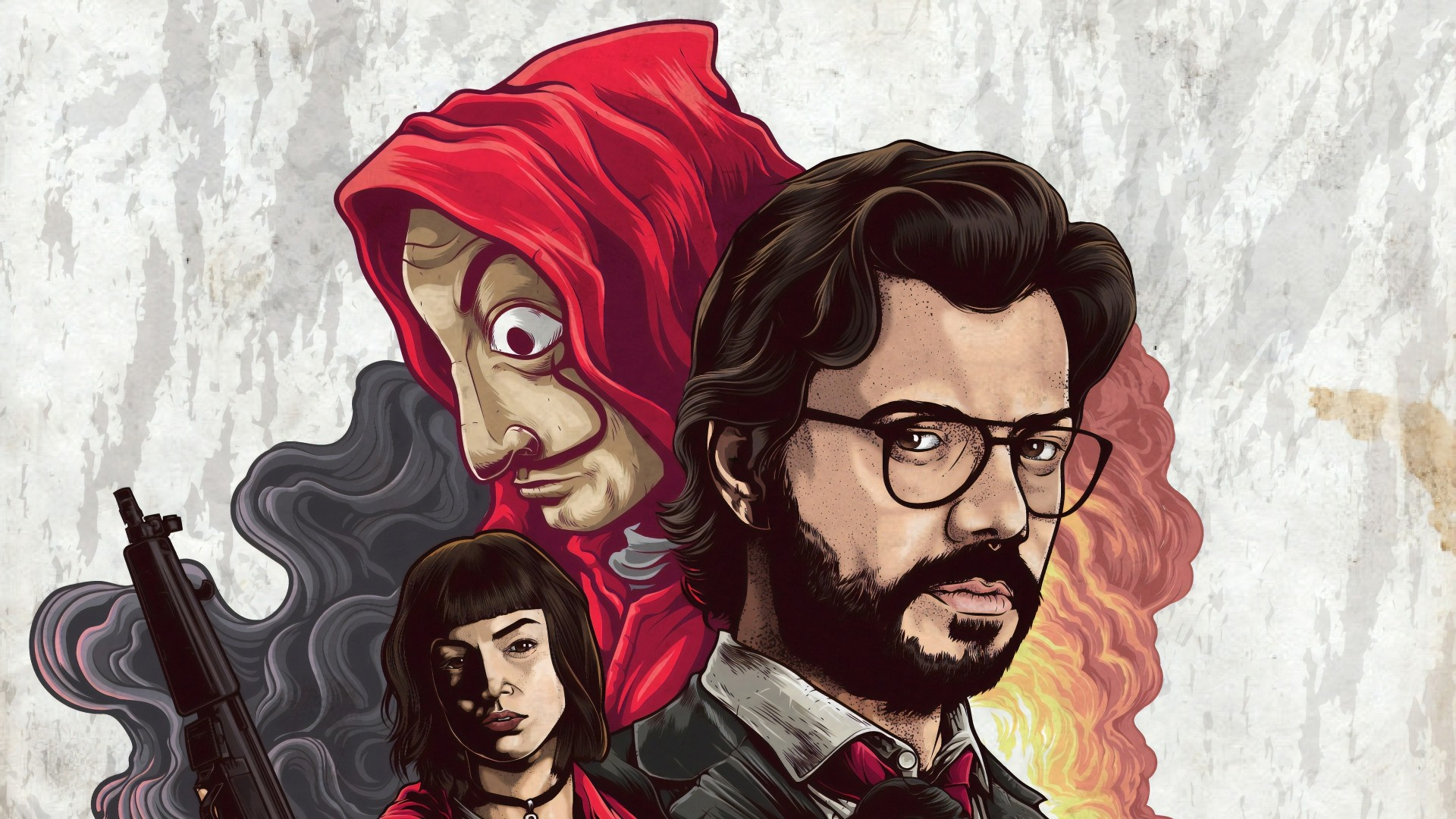 Money Heist Download Wallpaper