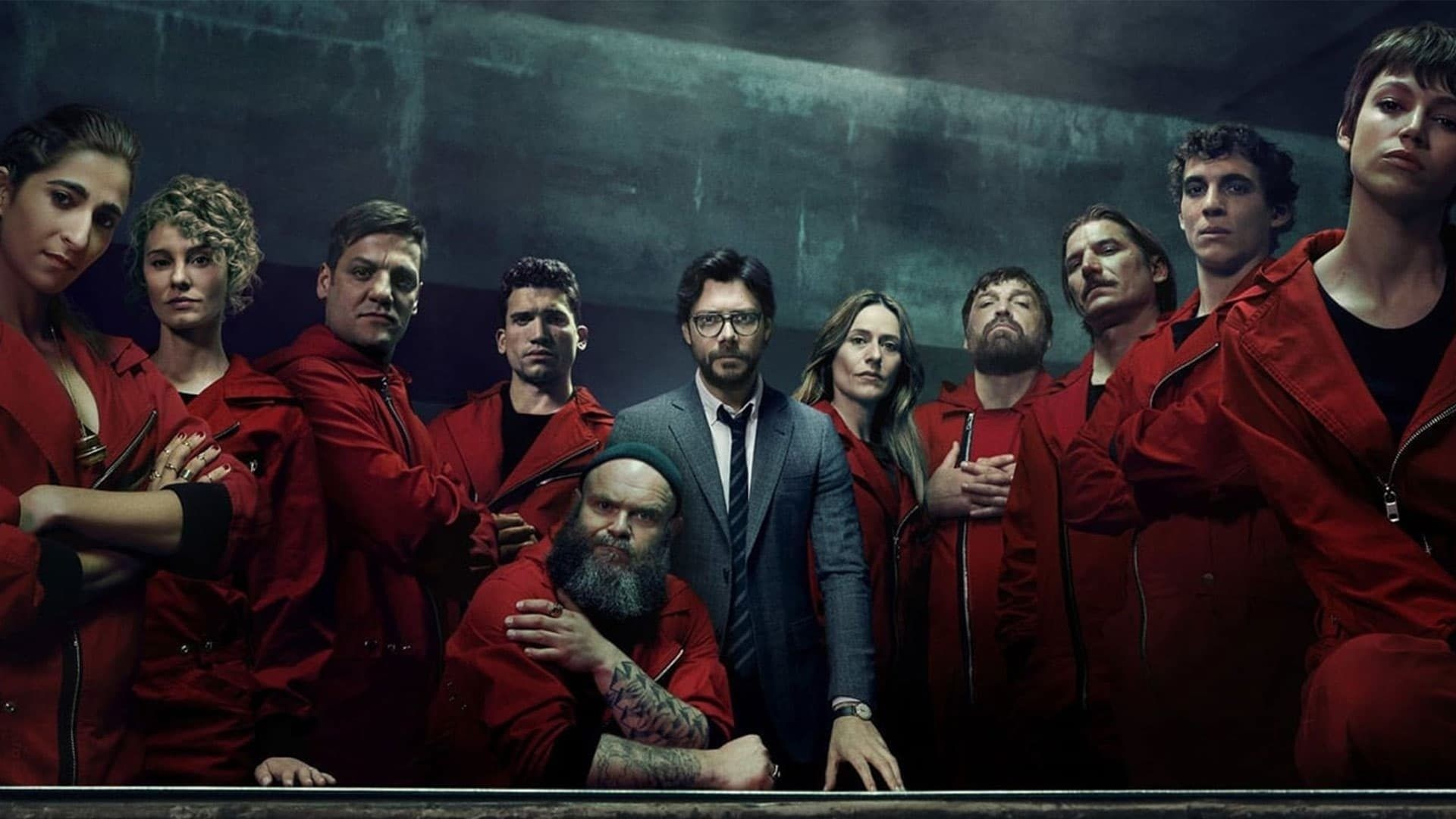 Money Heist Free Wallpaper