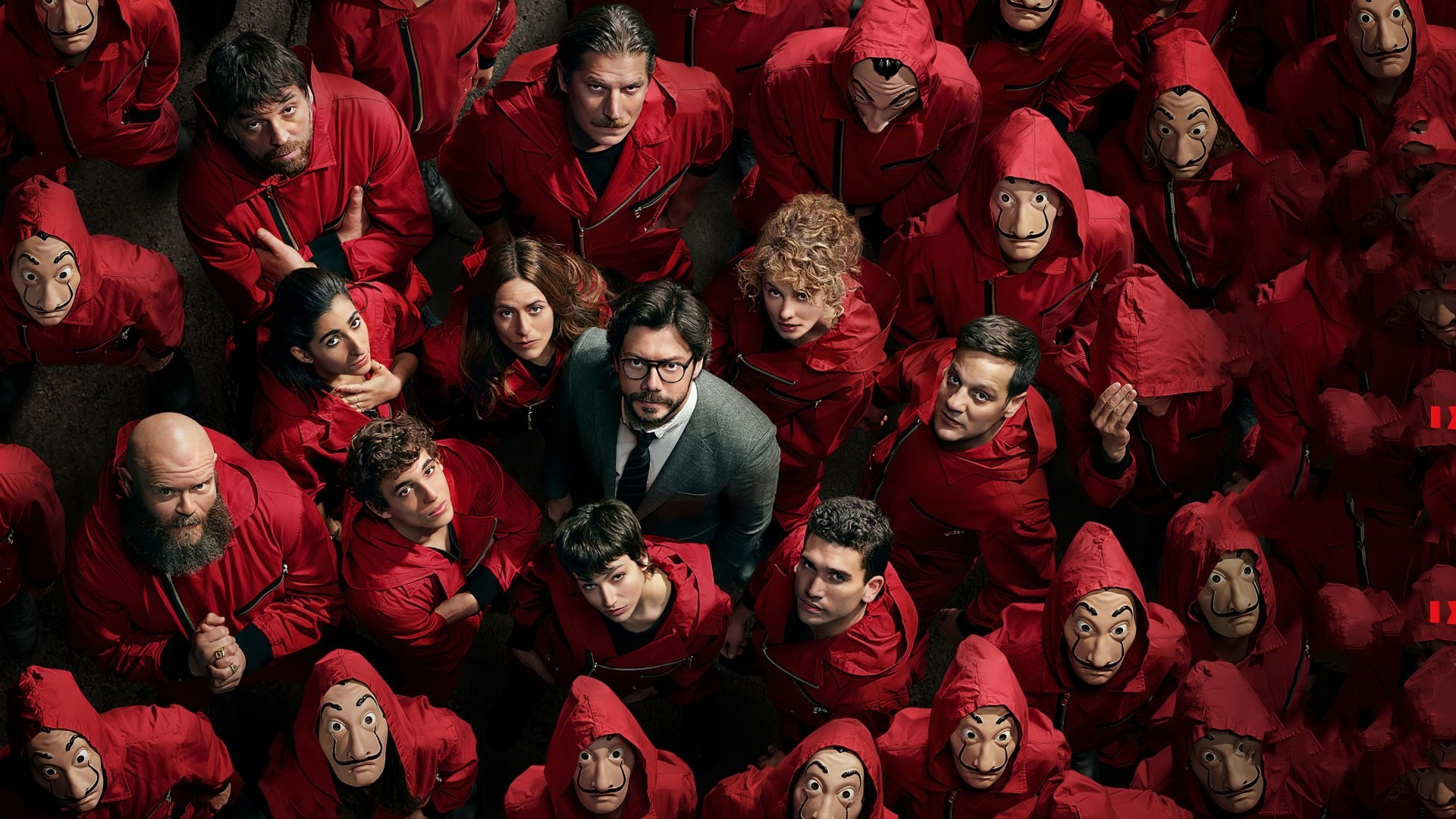 Money Heist Full HD Wallpaper