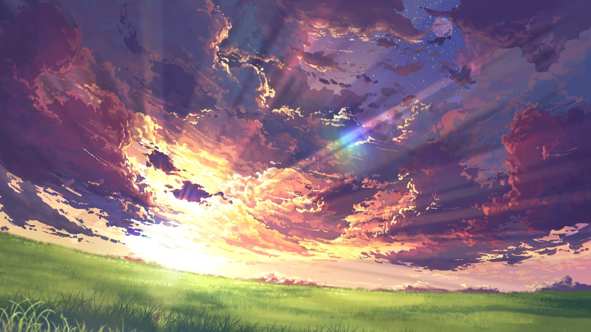 Anime Clouds wallpaper