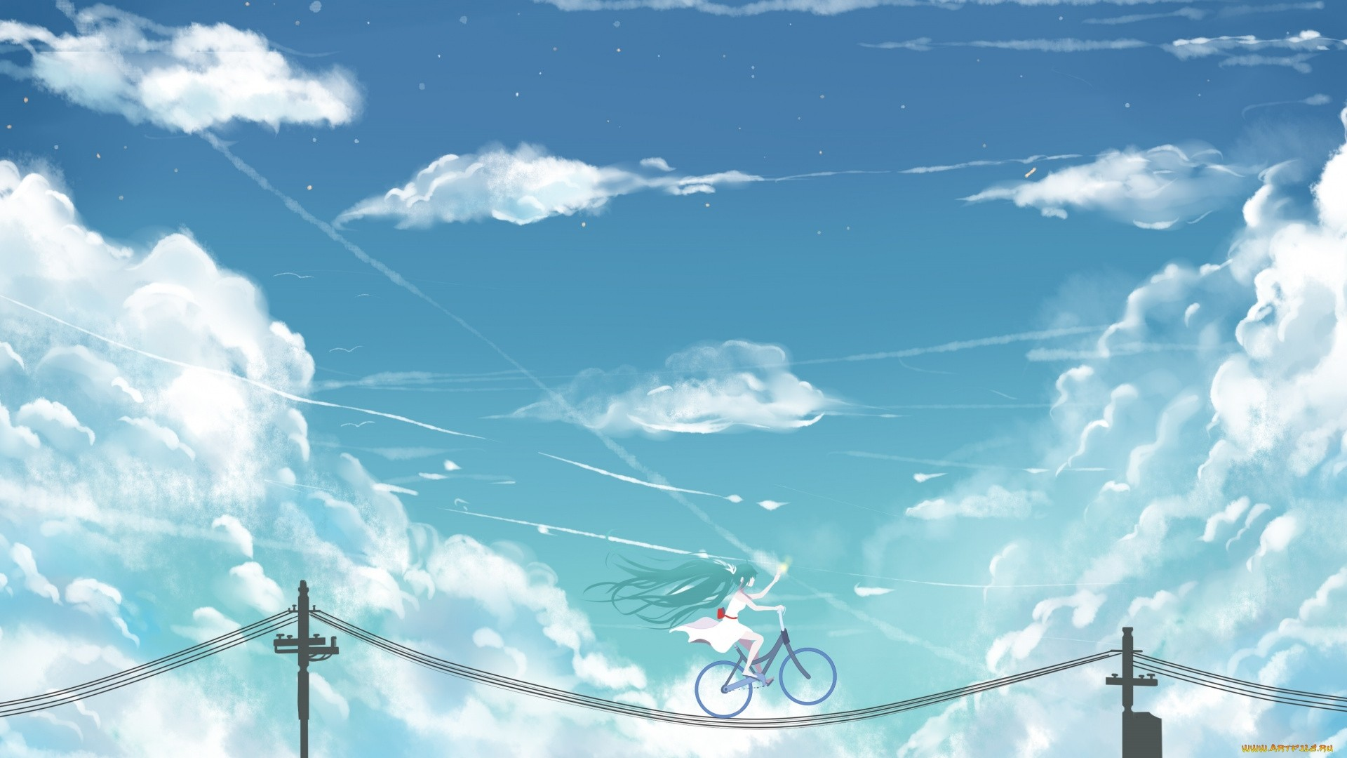 Anime Clouds Wallpaper Picture hd