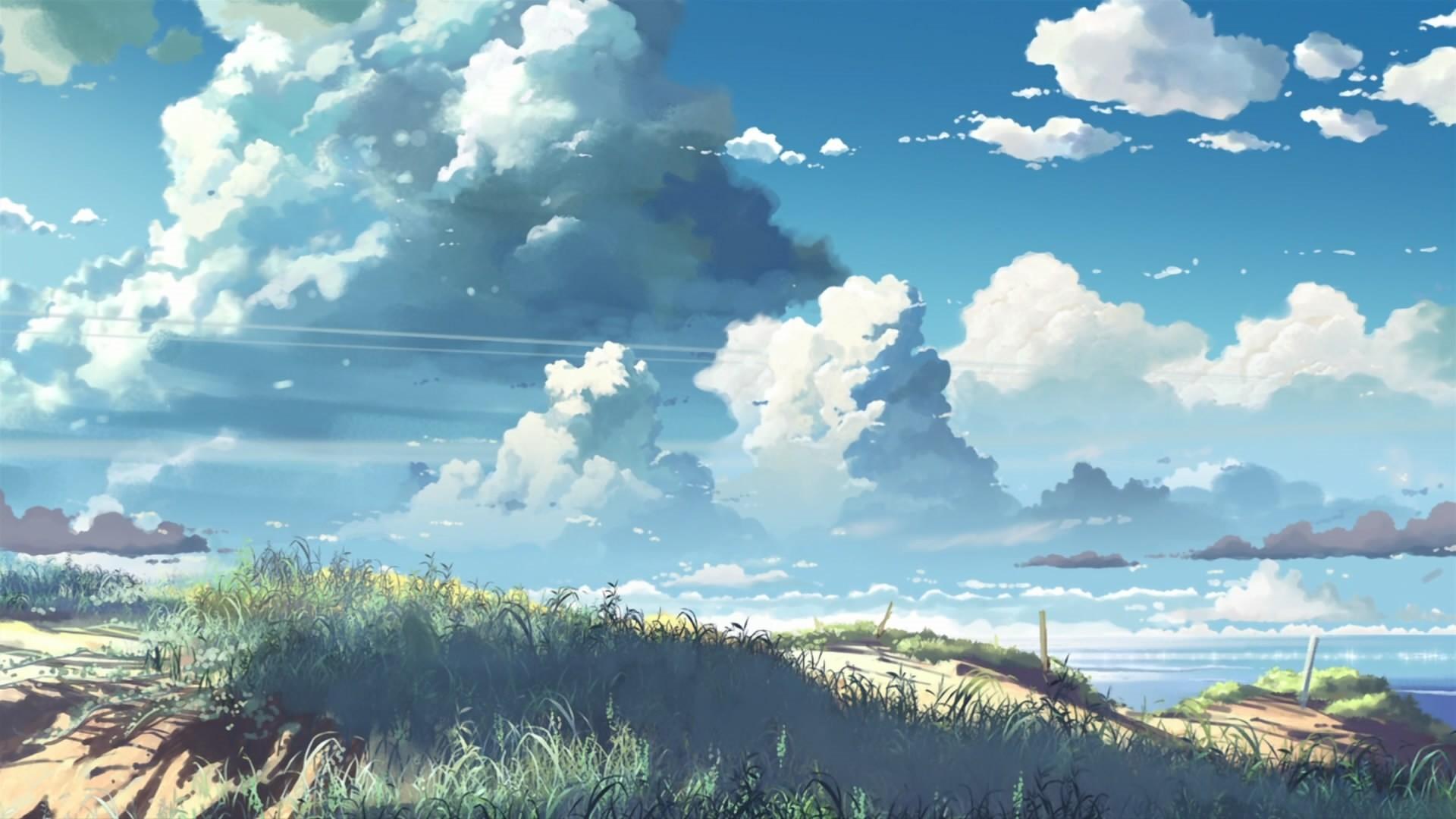 Anime Clouds hd desktop wallpaper