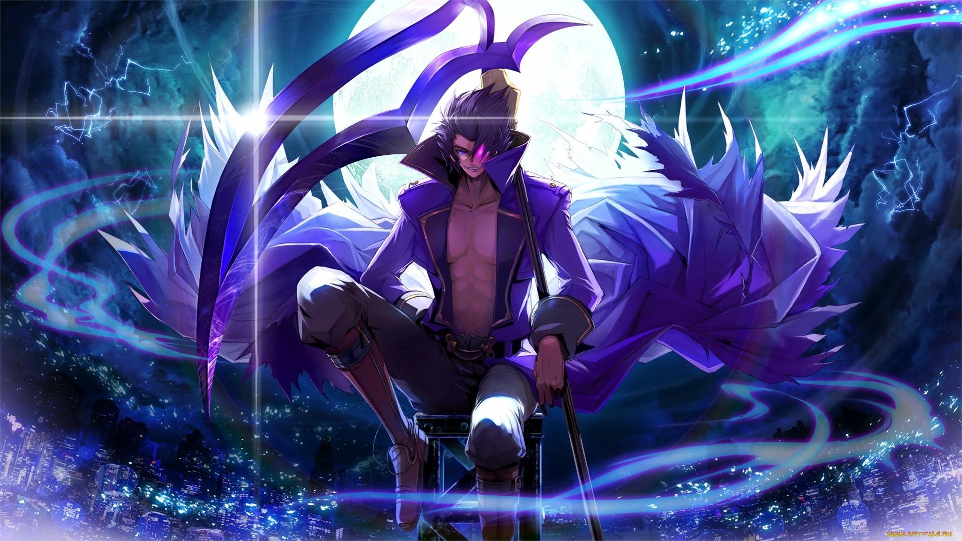 Anime Demon Boy HD Wallpaper