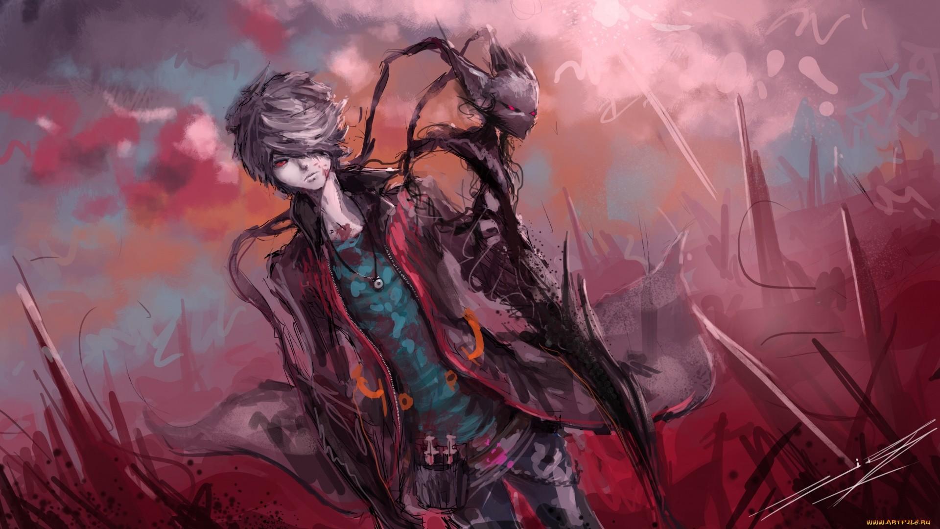 Anime Demon Boy Picture