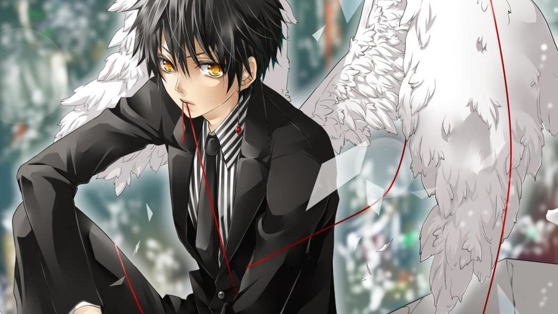 Anime Demon Boy Wallpaper and Background