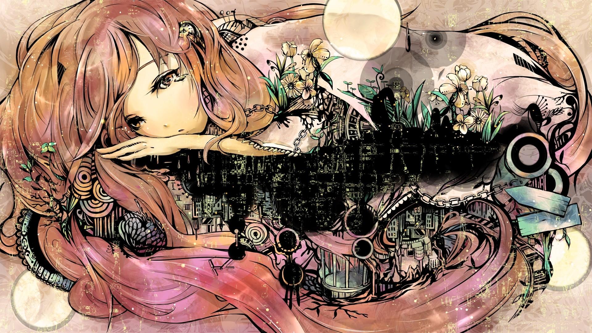 Anime Fanart Background Wallpaper