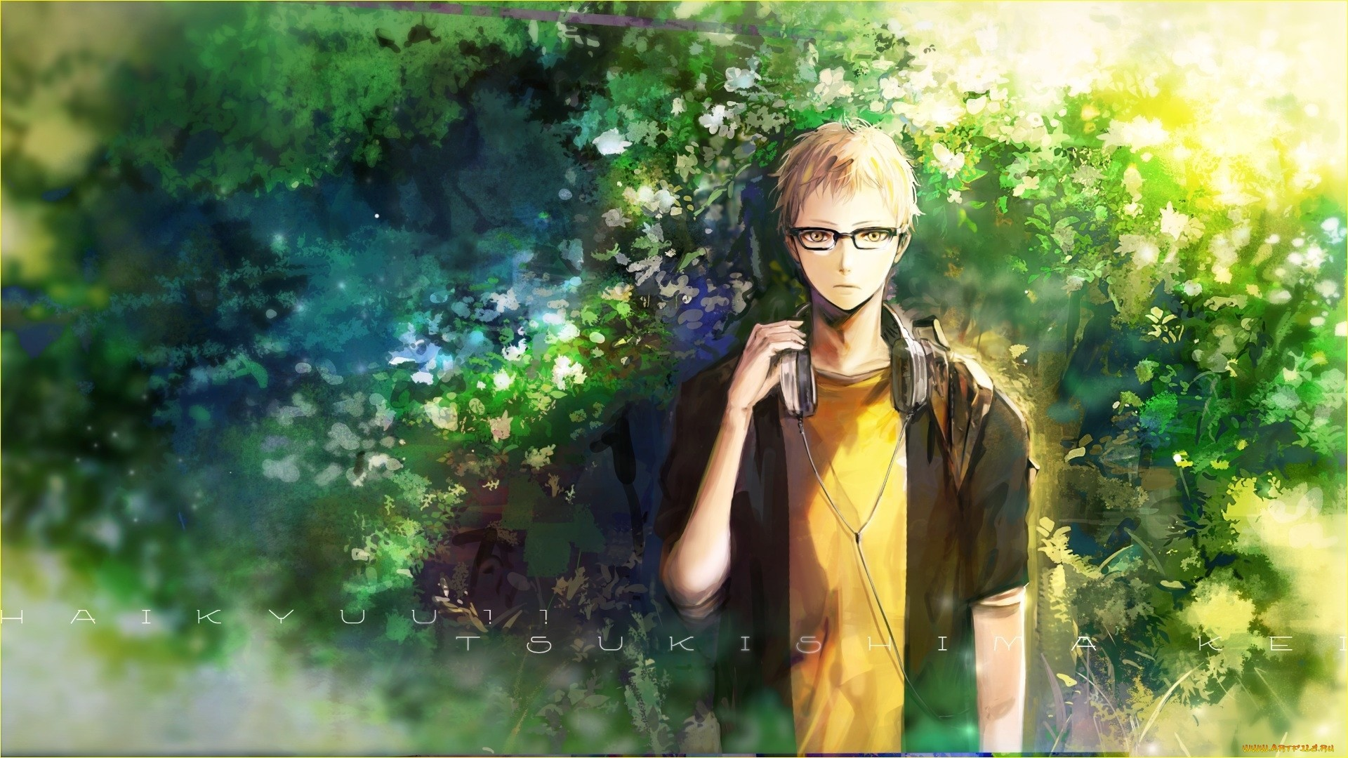 Anime Guy With Glasses HD Download