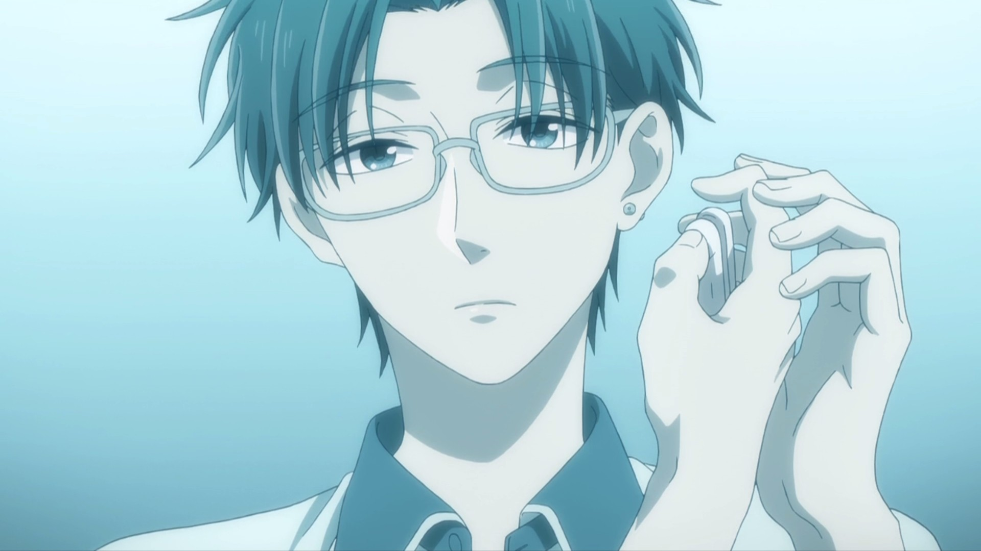 Anime Guy With Glasses HD Wallpaper