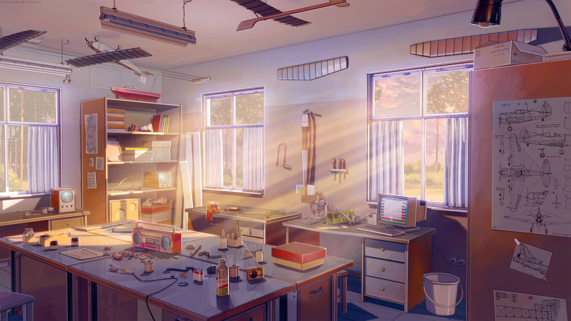 Anime Kitchen hd wallpaper download