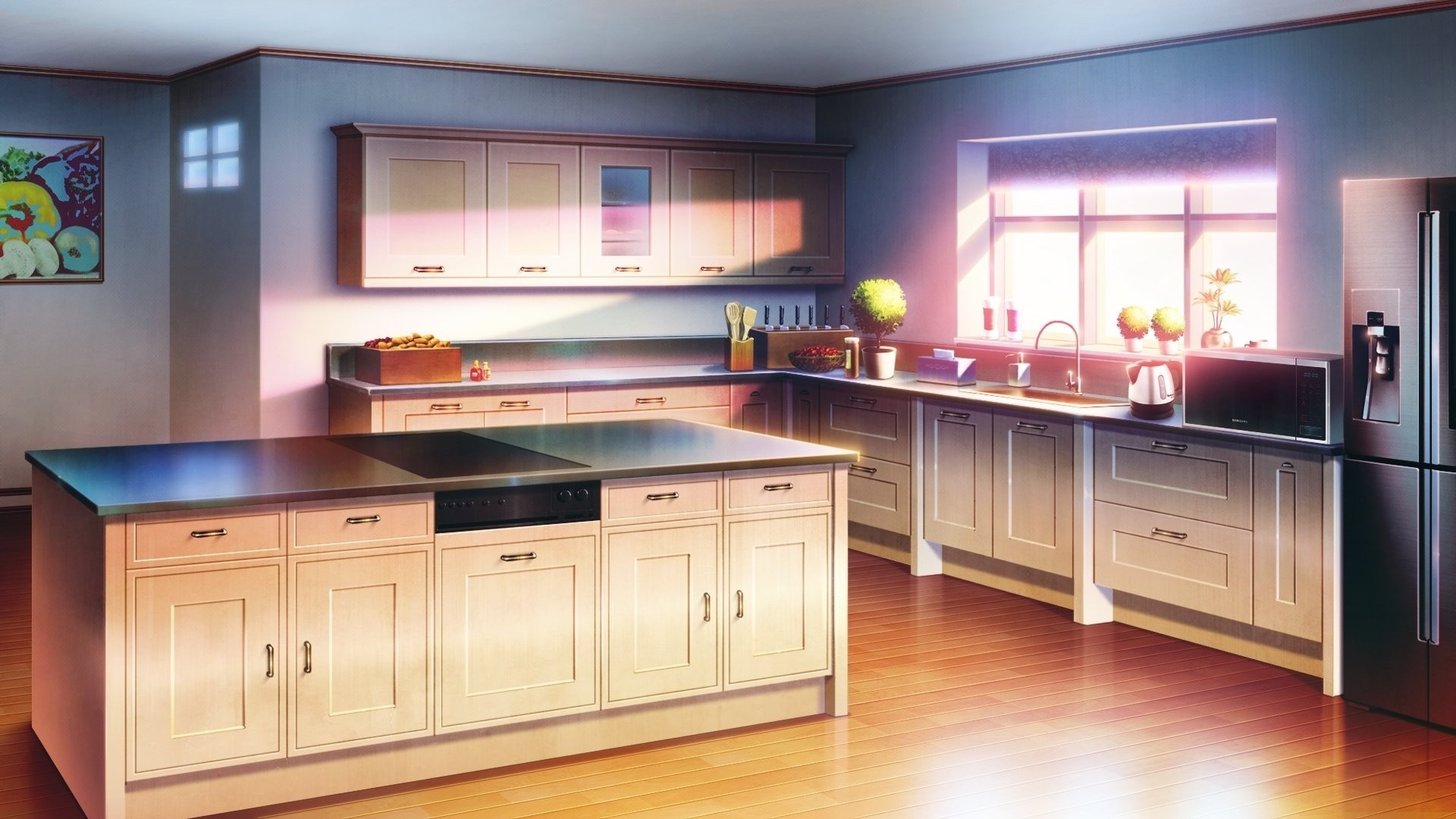 Anime Kitchen Free Wallpaper