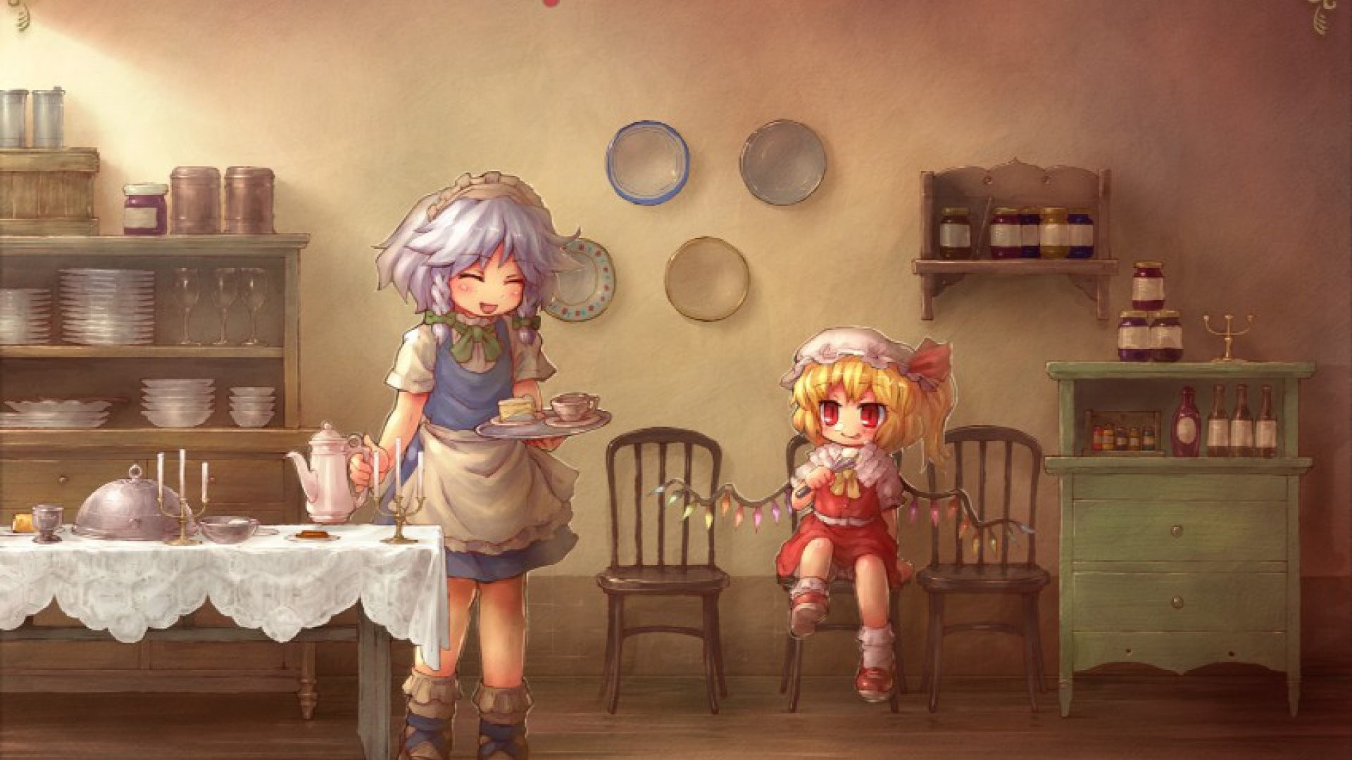 Anime Kitchen HD Wallpaper