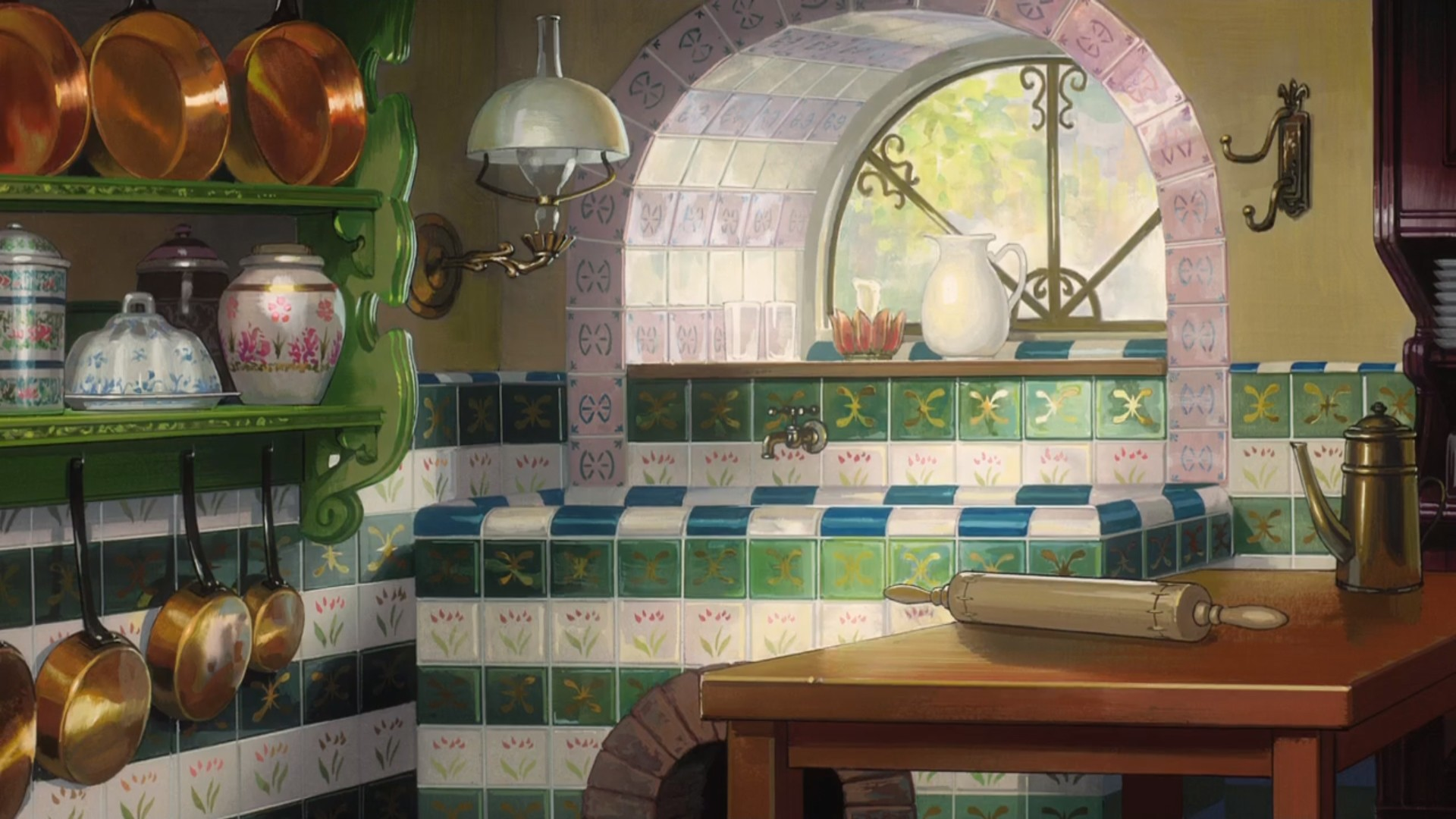 Anime Kitchen a wallpaper