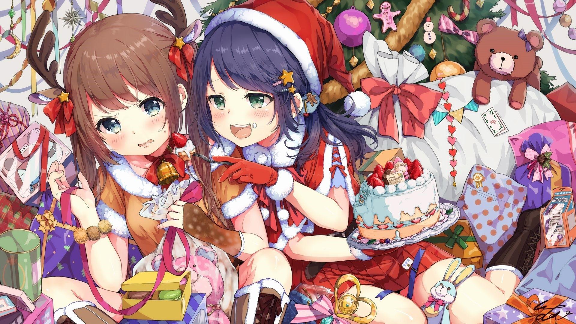 Christmas Anime Girl Pic