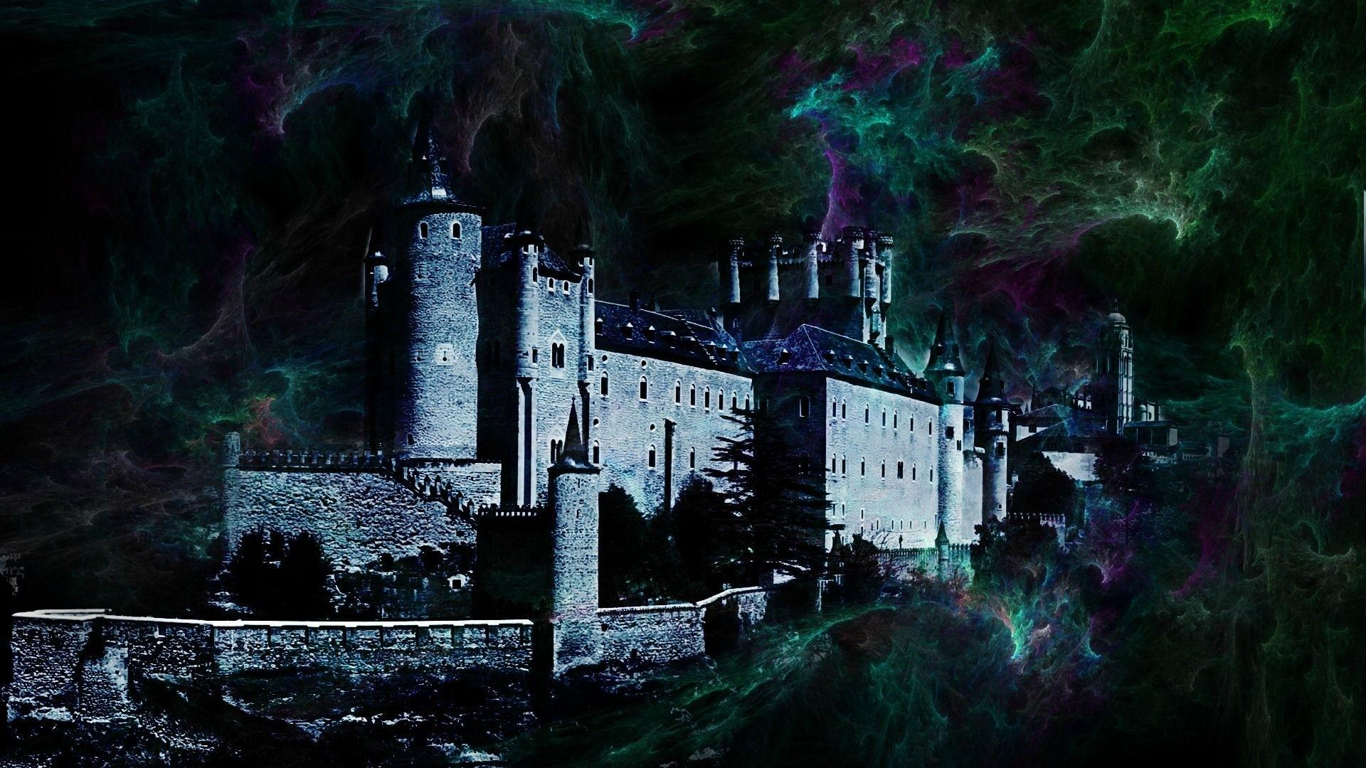 Gothic Castle HD Wallpaper