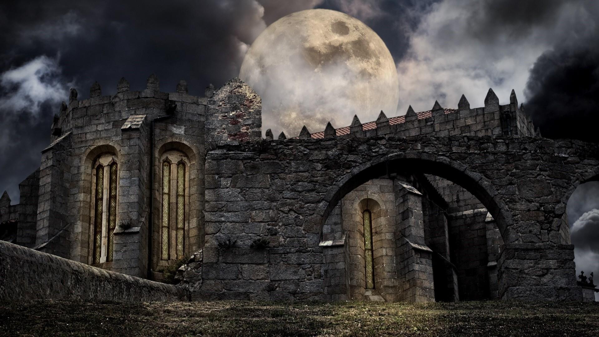 Gothic Castle PC Wallpaper HD