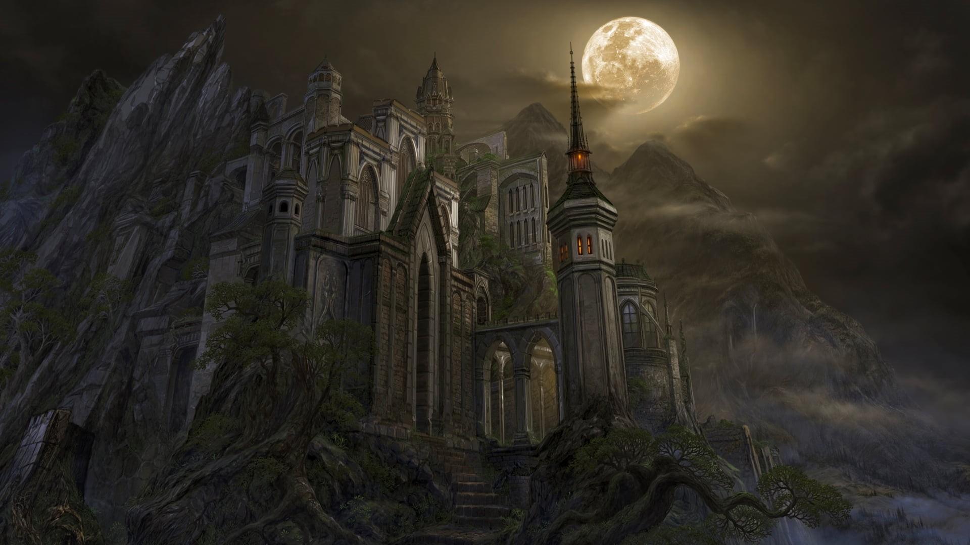 Gothic Castle Wallpaper