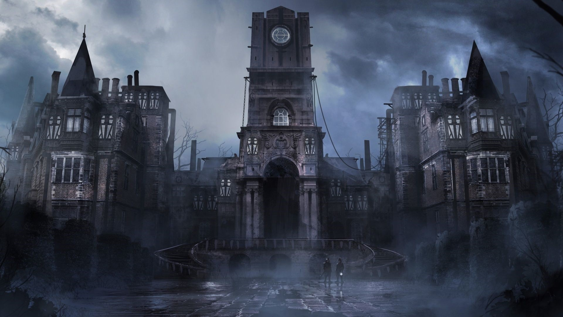 Gothic Castle Free Wallpaper and Background