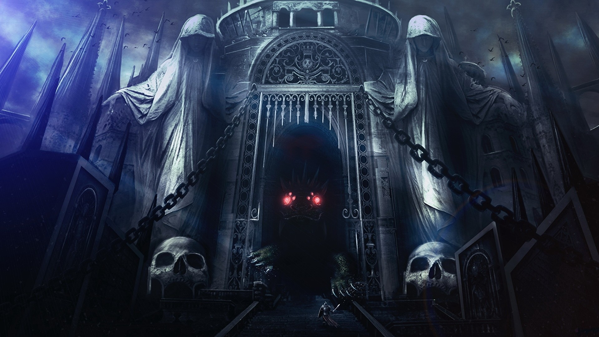 Gothic Castle Download Wallpaper